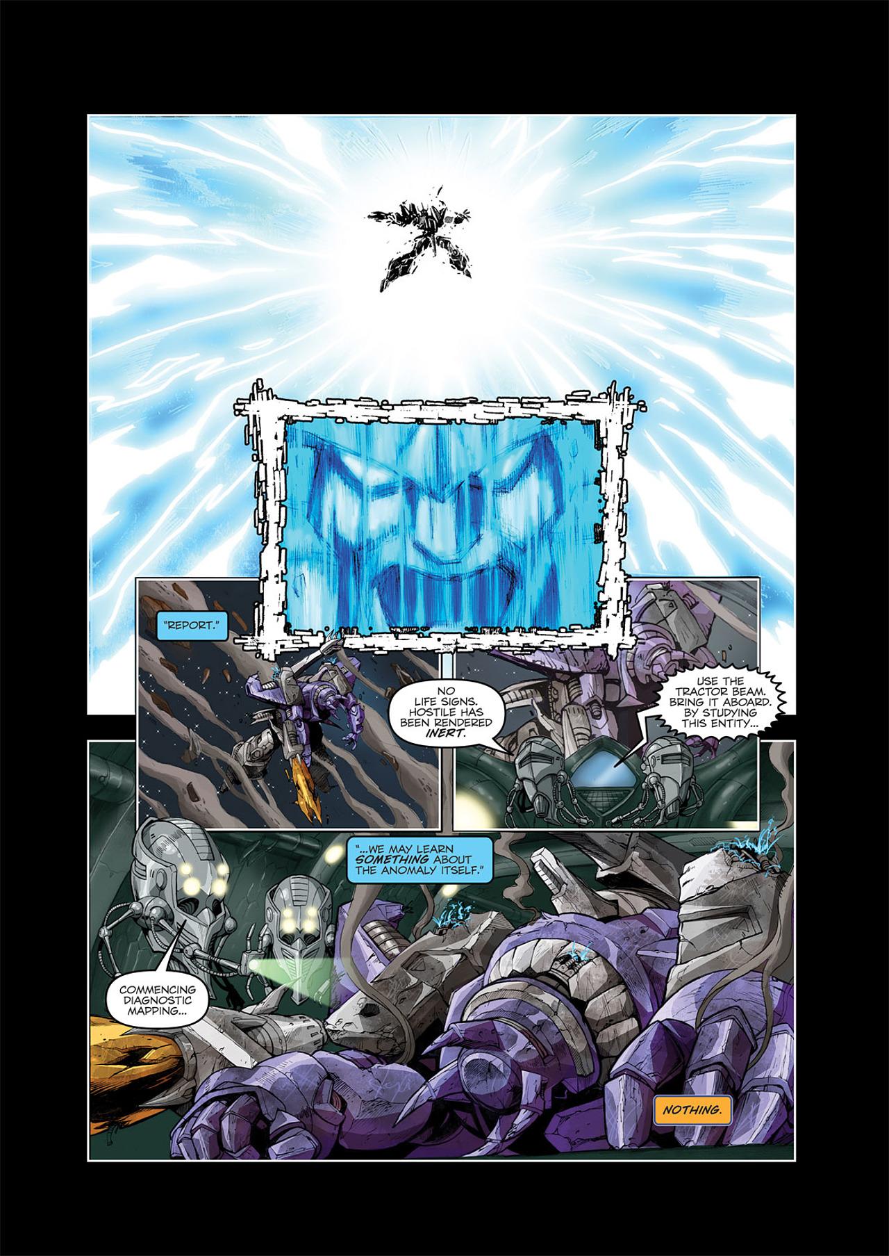 Read online Transformers Spotlight: Galvatron comic -  Issue # Full - 7