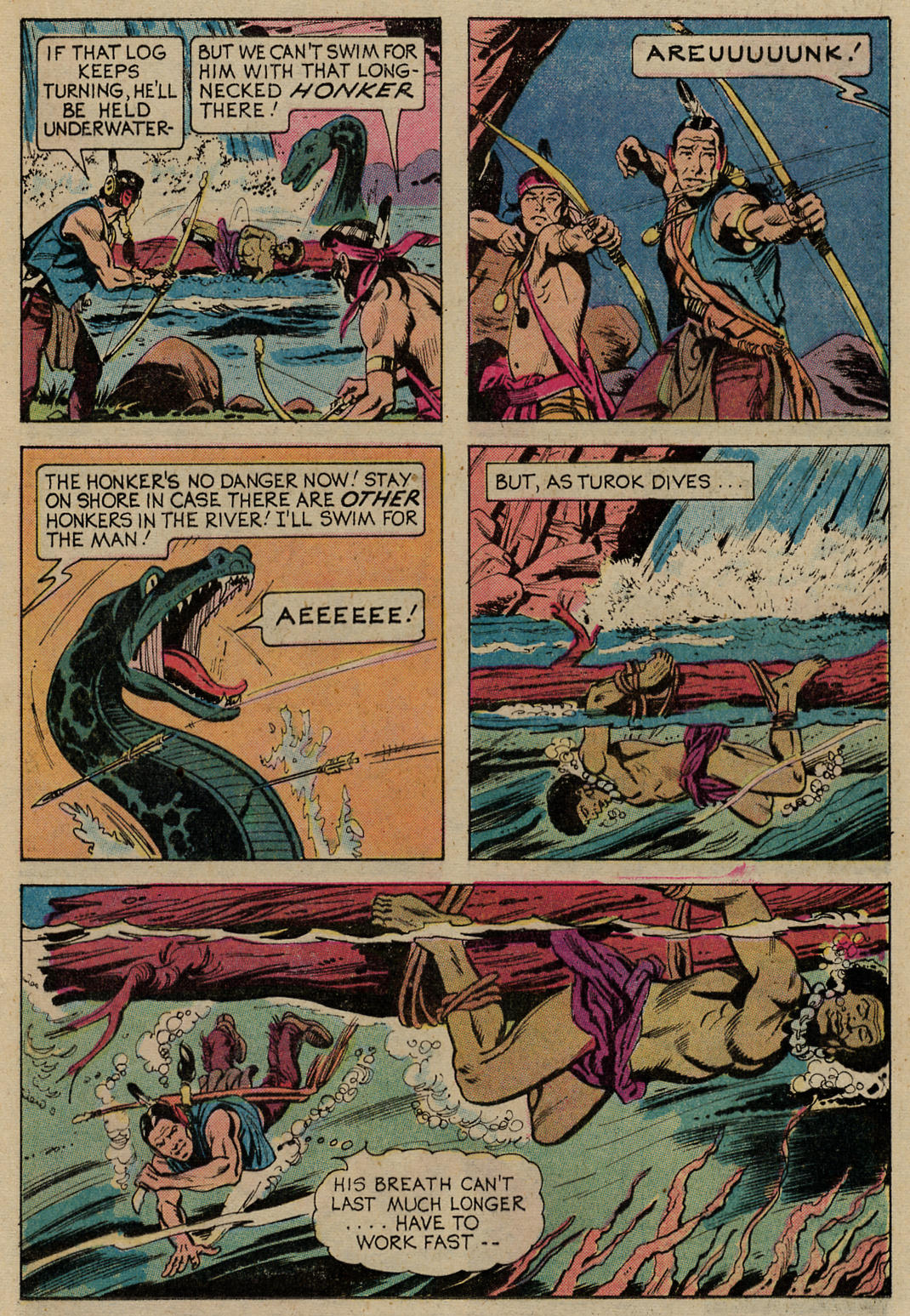 Read online Turok, Son of Stone comic -  Issue #98 - 16