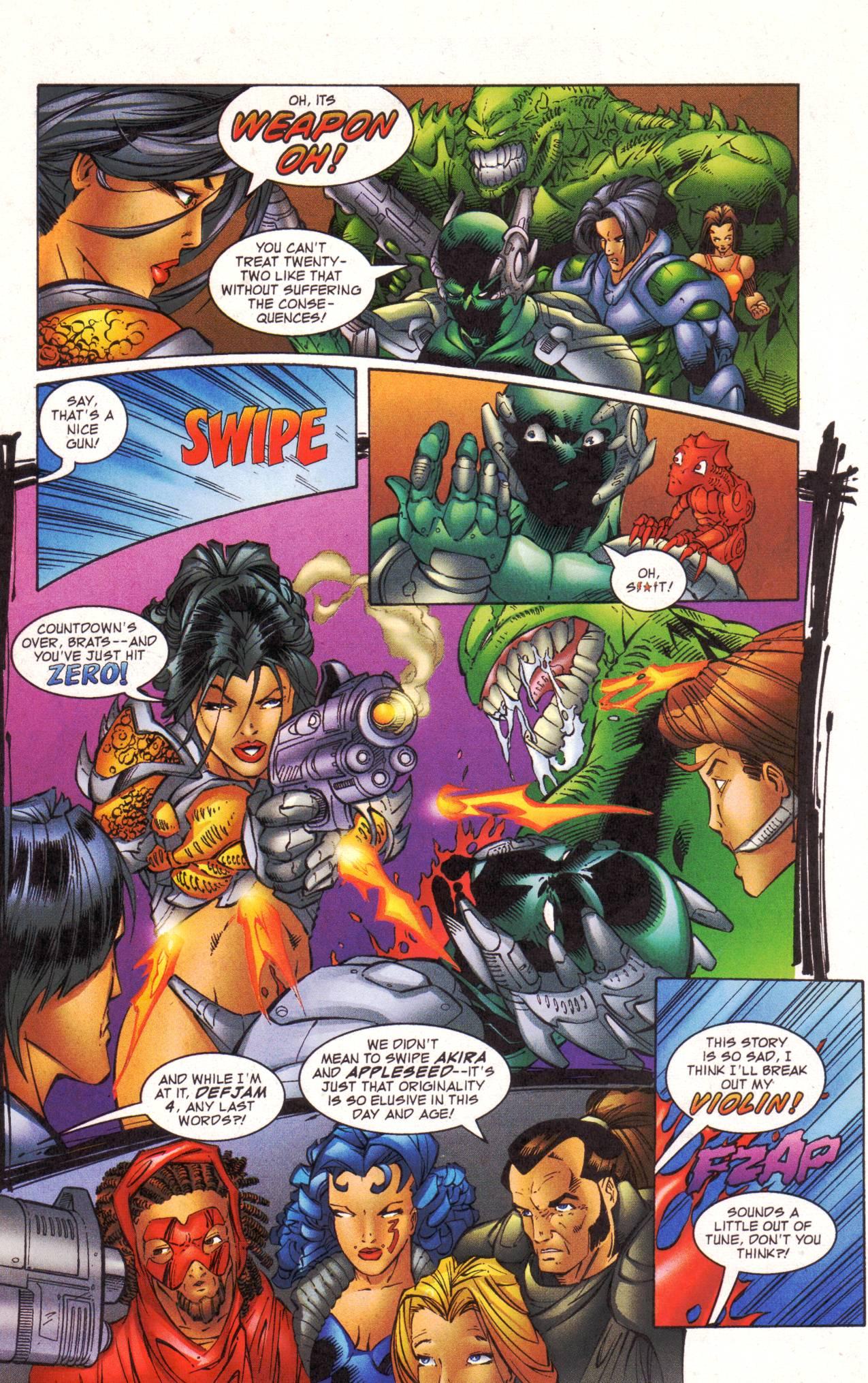 Read online Avengeblade comic -  Issue #2 - 20