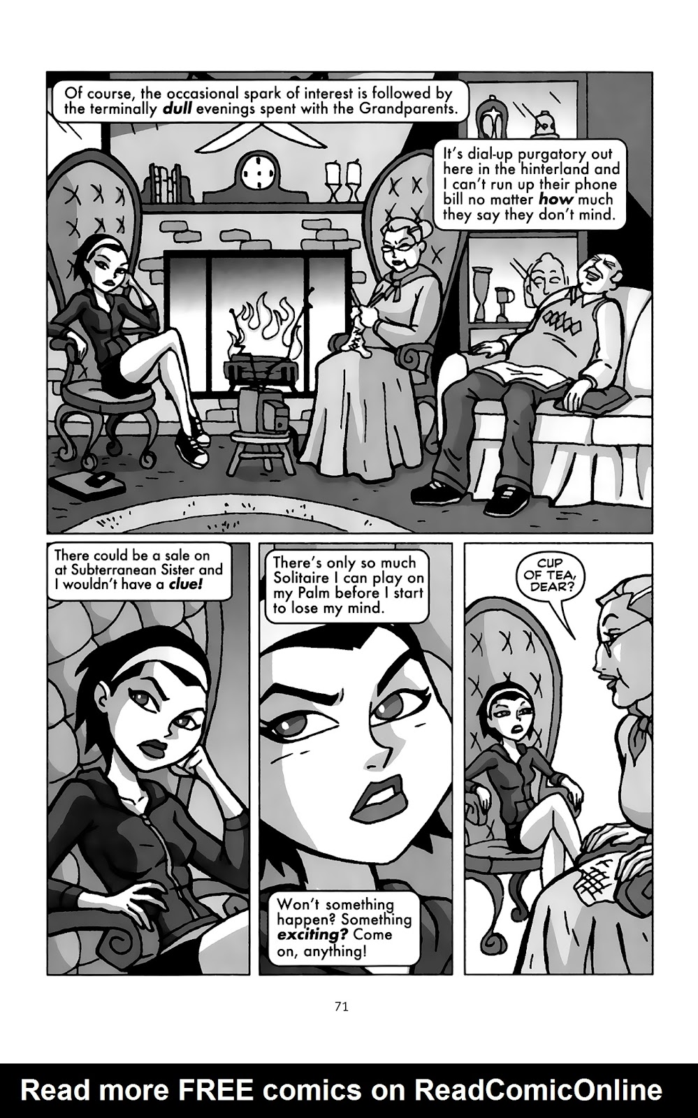 Read online Clubbing comic -  Issue # TPB - 69