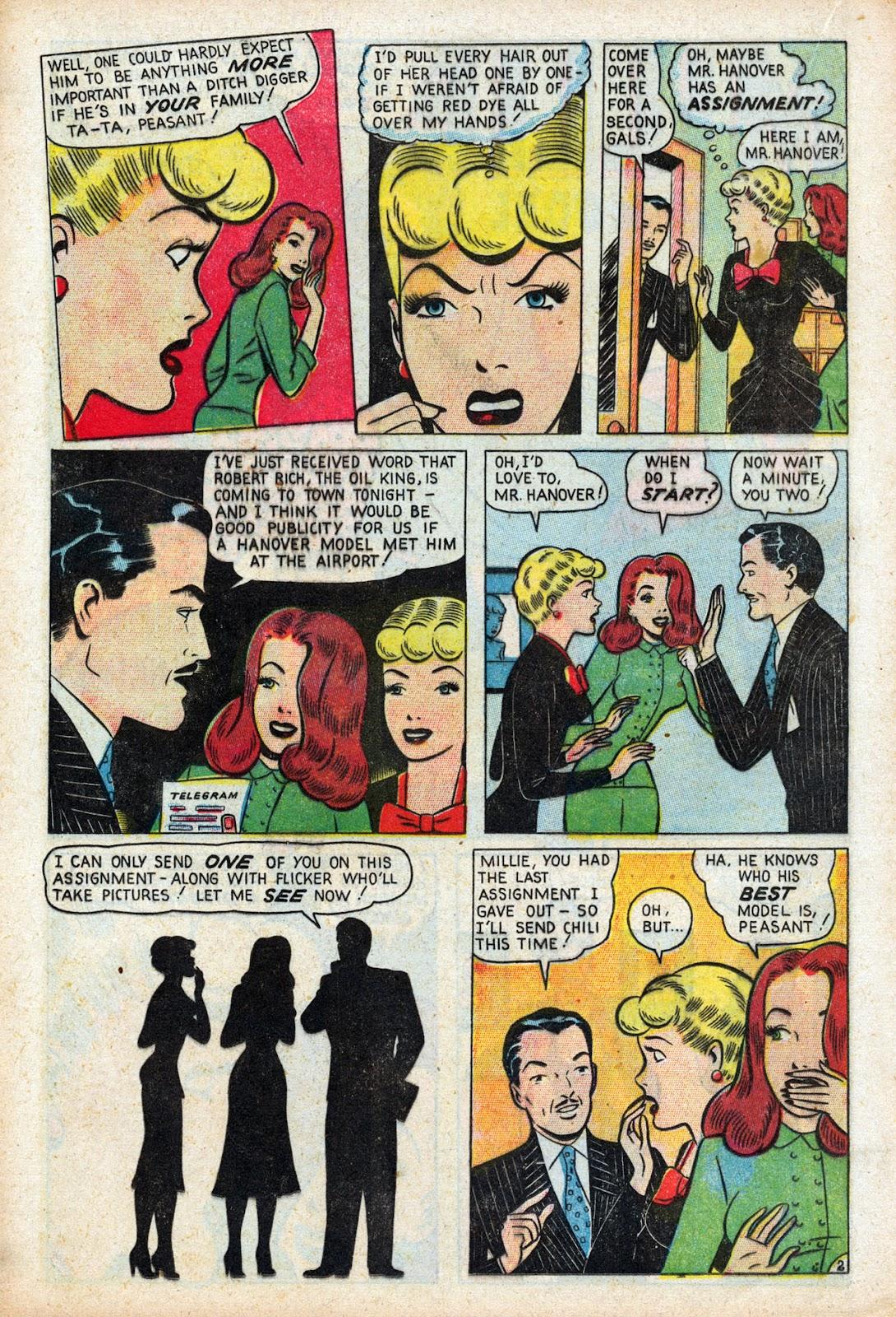 Read online Comedy Comics (1948) comic -  Issue #3 - 18