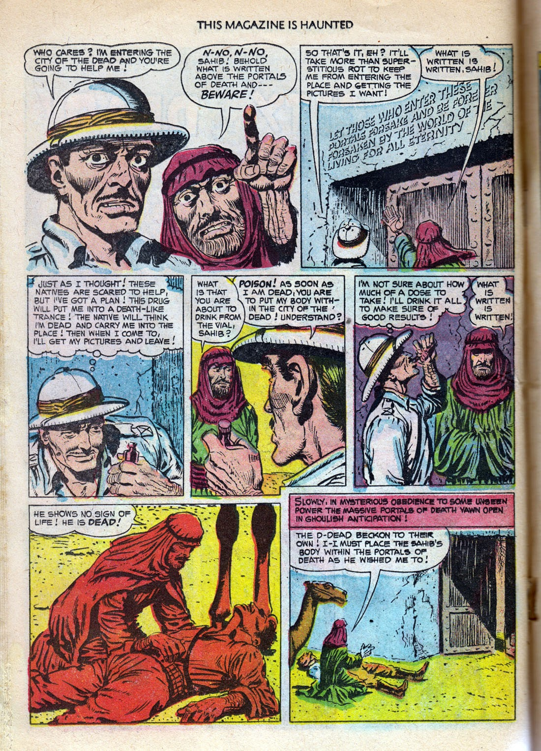 Read online This Magazine Is Haunted comic -  Issue #10 - 14