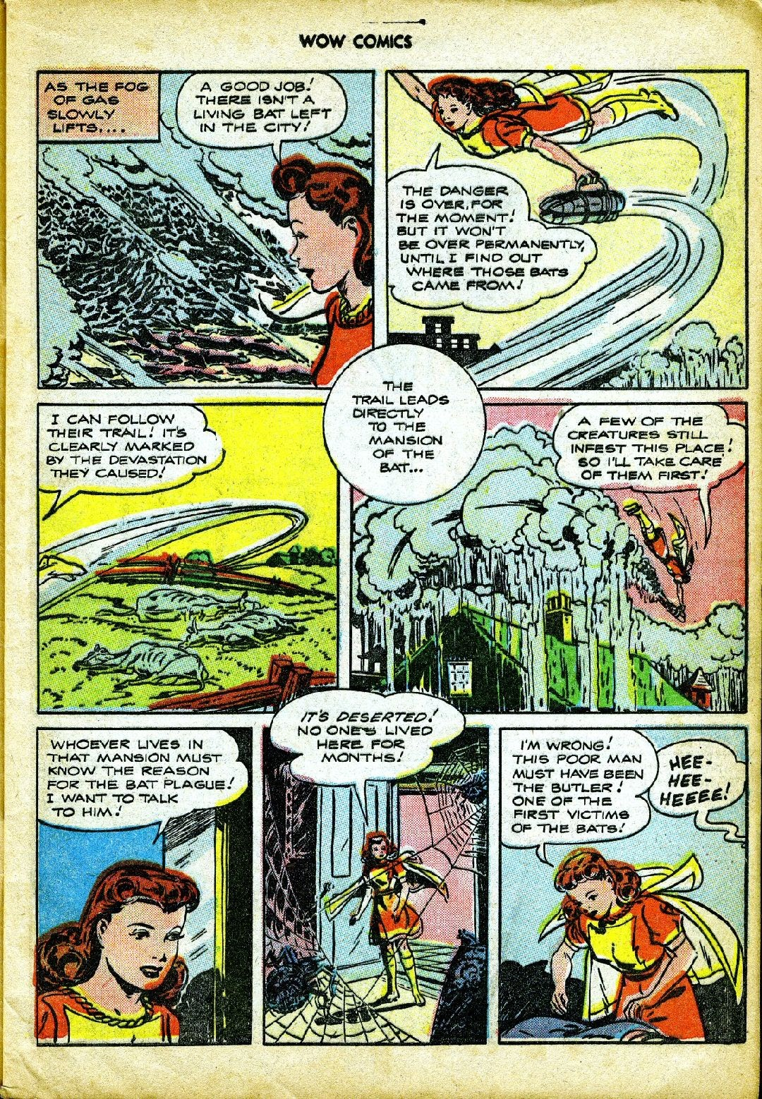 Wow Comics issue 57 - Page 9
