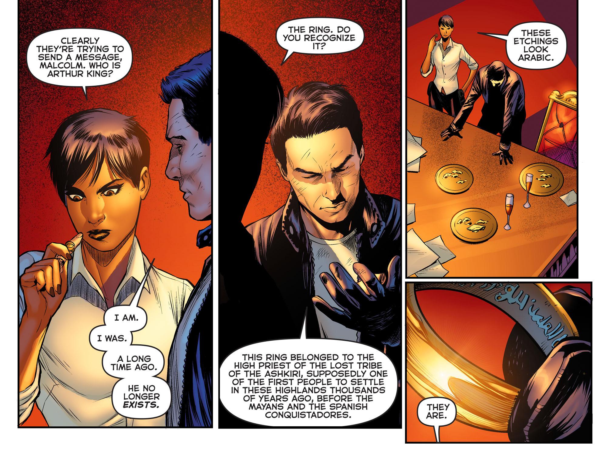 Read online Arrow: The Dark Archer comic -  Issue #2 - 13