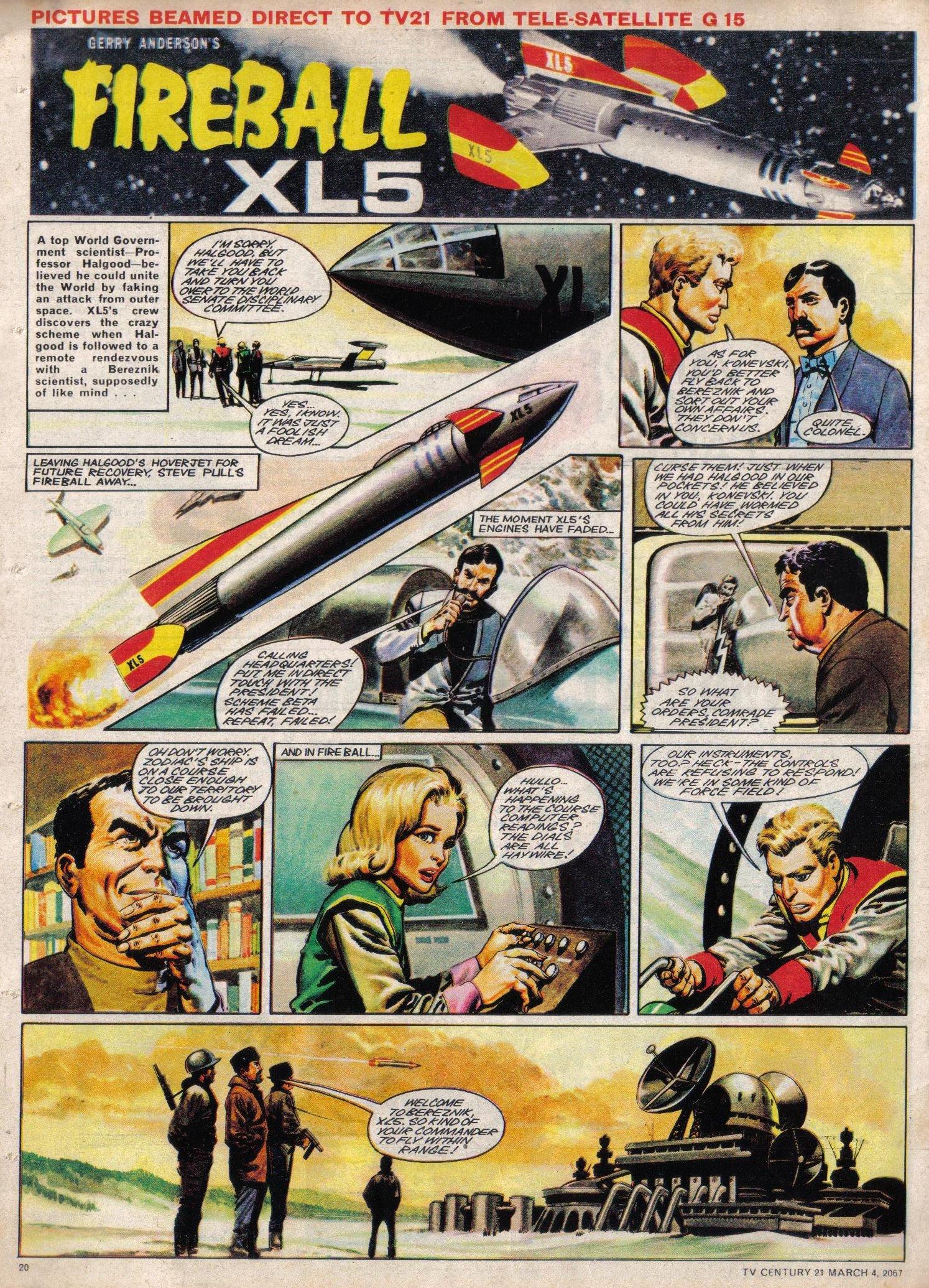 Read online TV Century 21 (TV 21) comic -  Issue #111 - 19