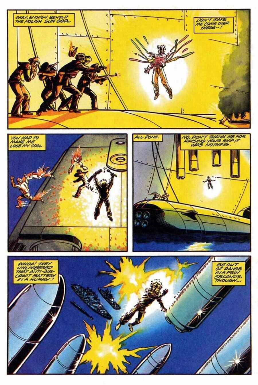 Read online Solar, Man of the Atom comic -  Issue #1 - 23