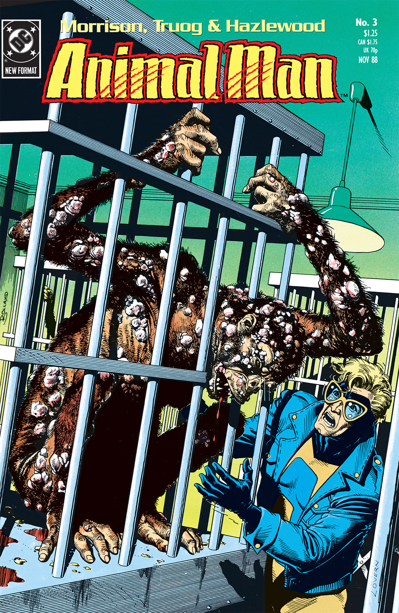 Read online Animal Man (1988) comic -  Issue #3 - 1
