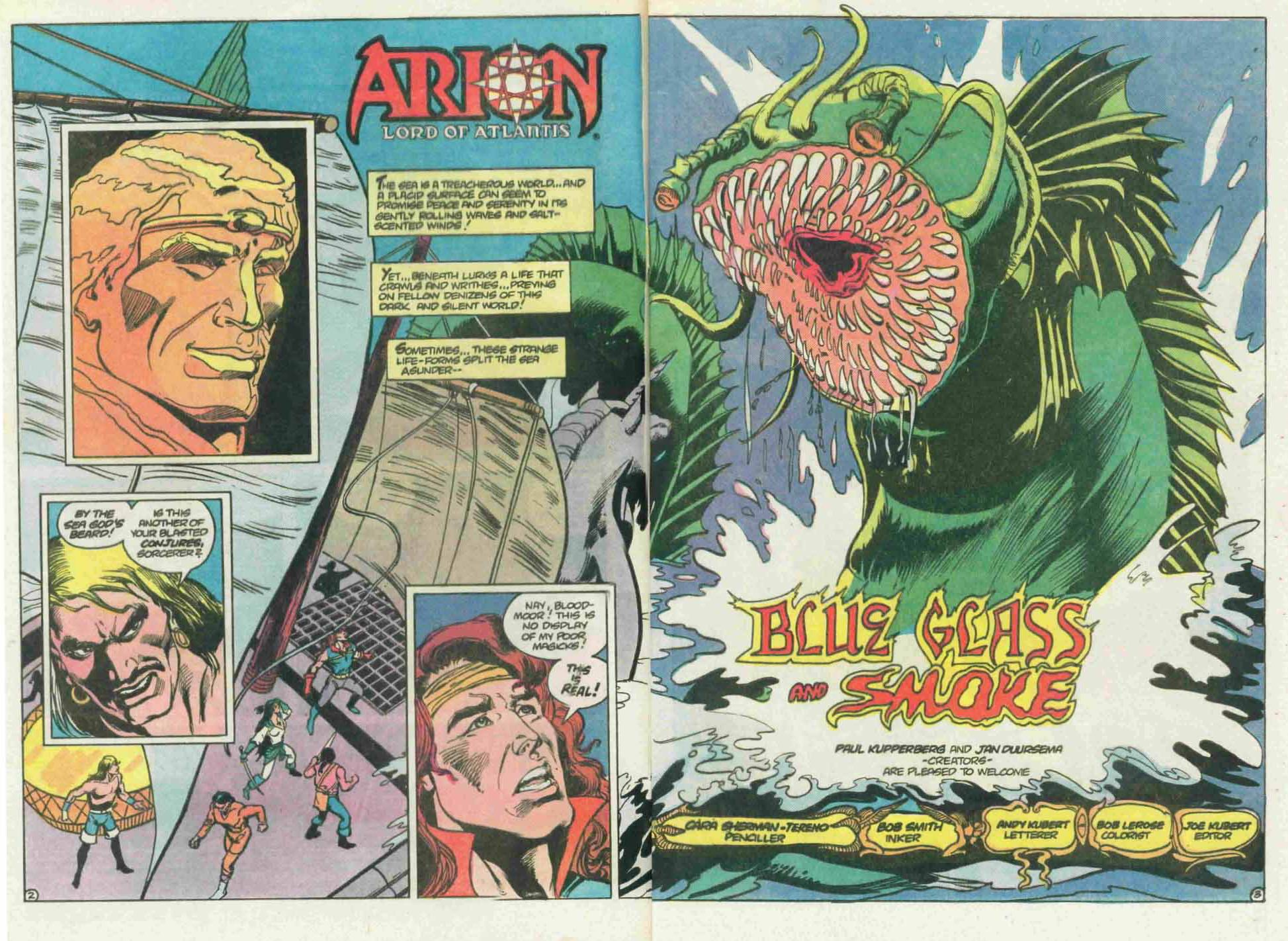 Read online Arion, Lord of Atlantis comic -  Issue #22 - 4