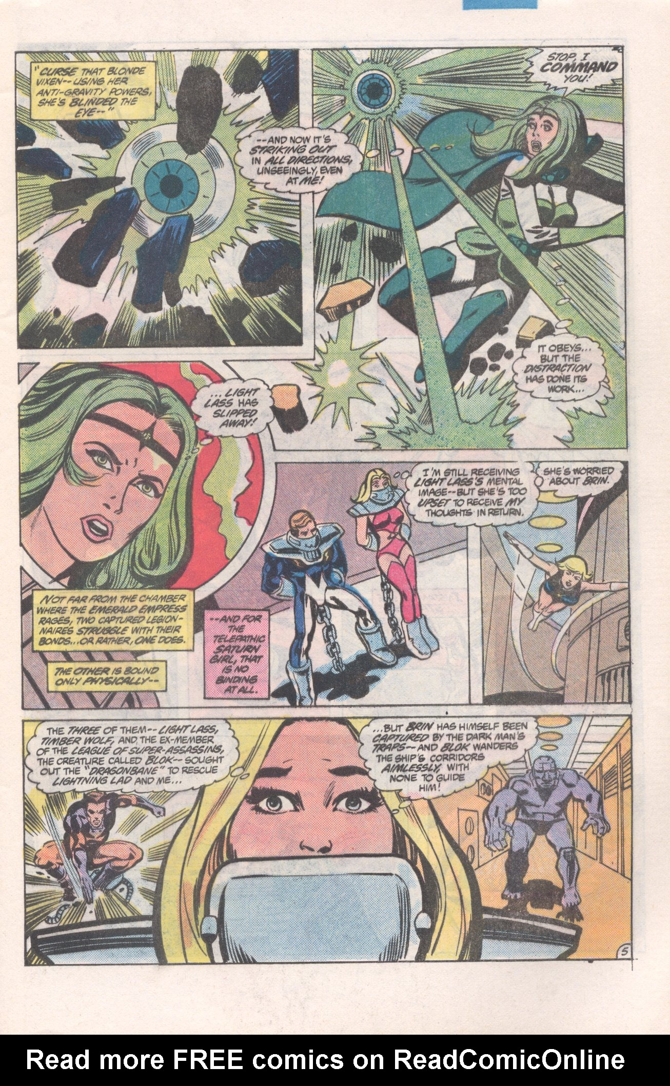Legion of Super-Heroes (1980) 271 Page 5
