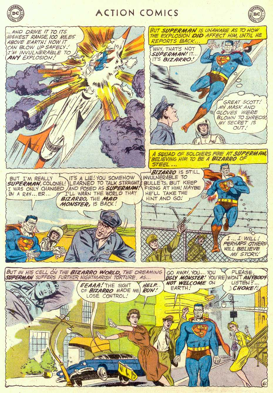 Read online Action Comics (1938) comic -  Issue #264 - 8