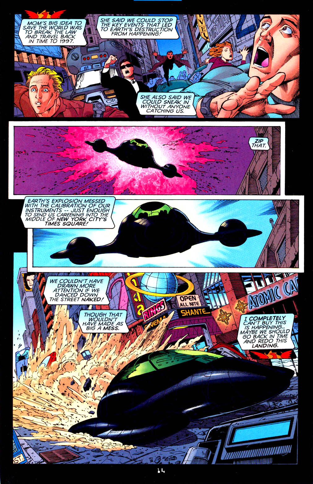 Read online Tangent Comics/ Doom Patrol comic -  Issue # Full - 15
