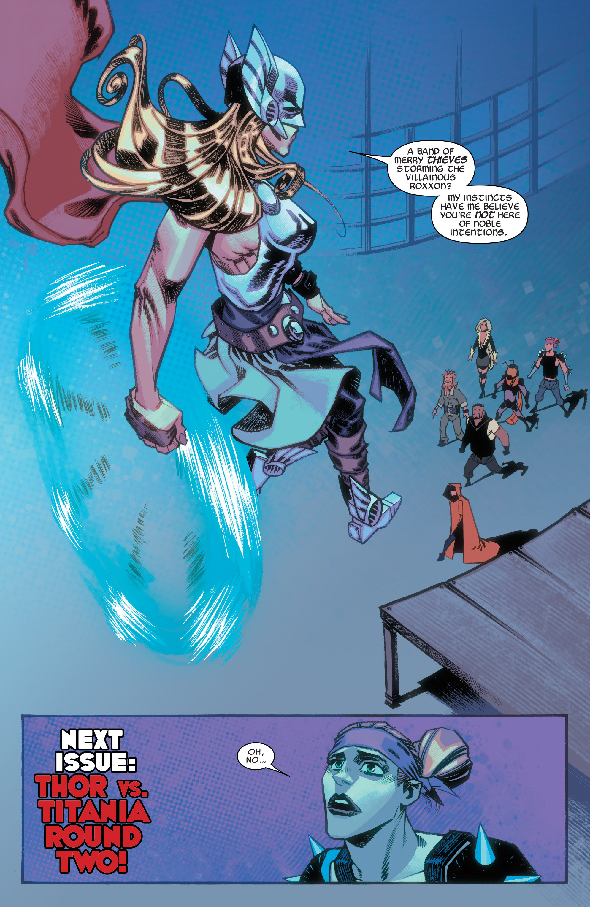 Read online Illuminati comic -  Issue #3 - 21