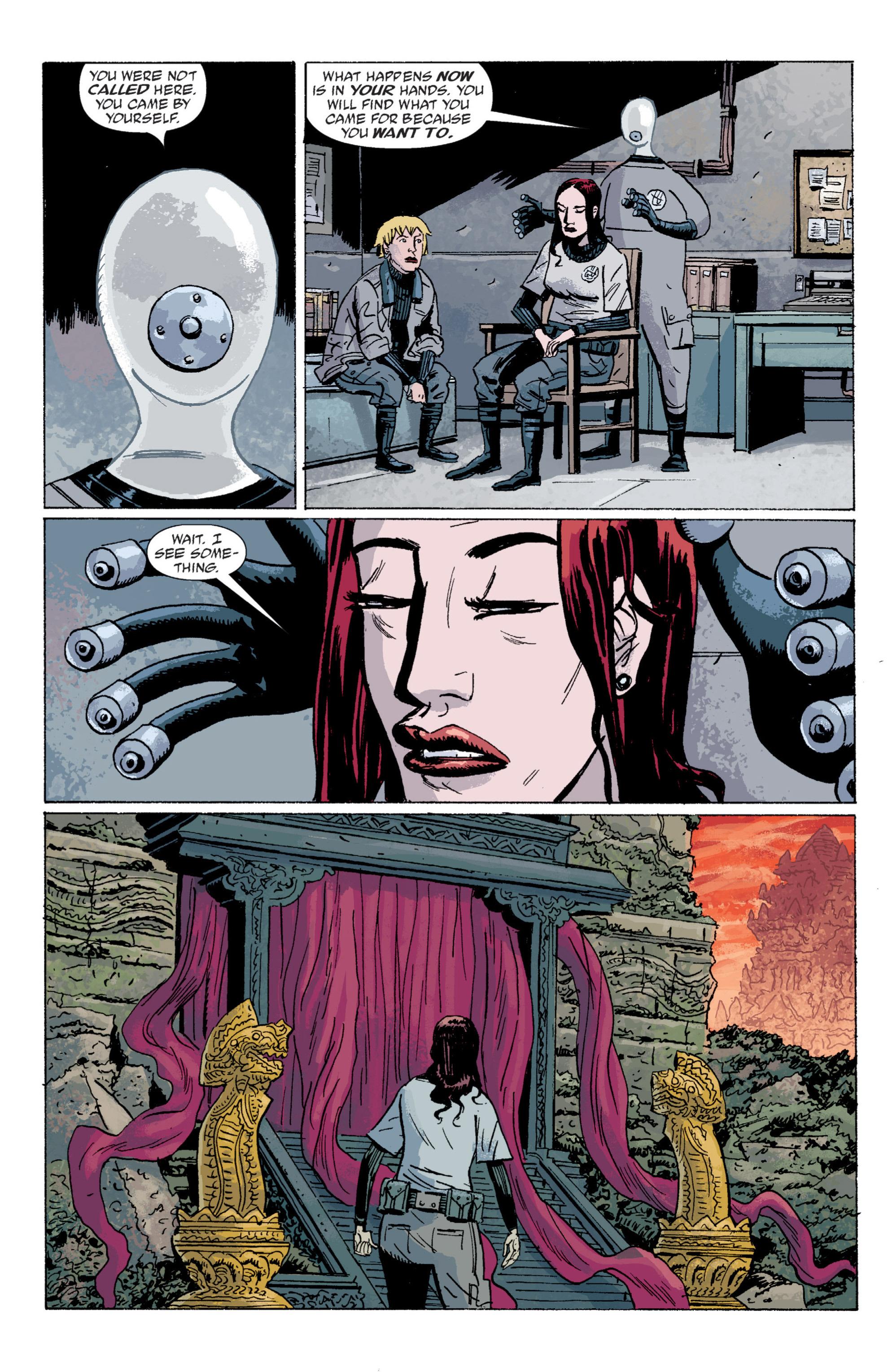 Read online B.P.R.D. (2003) comic -  Issue # TPB 5 - 121