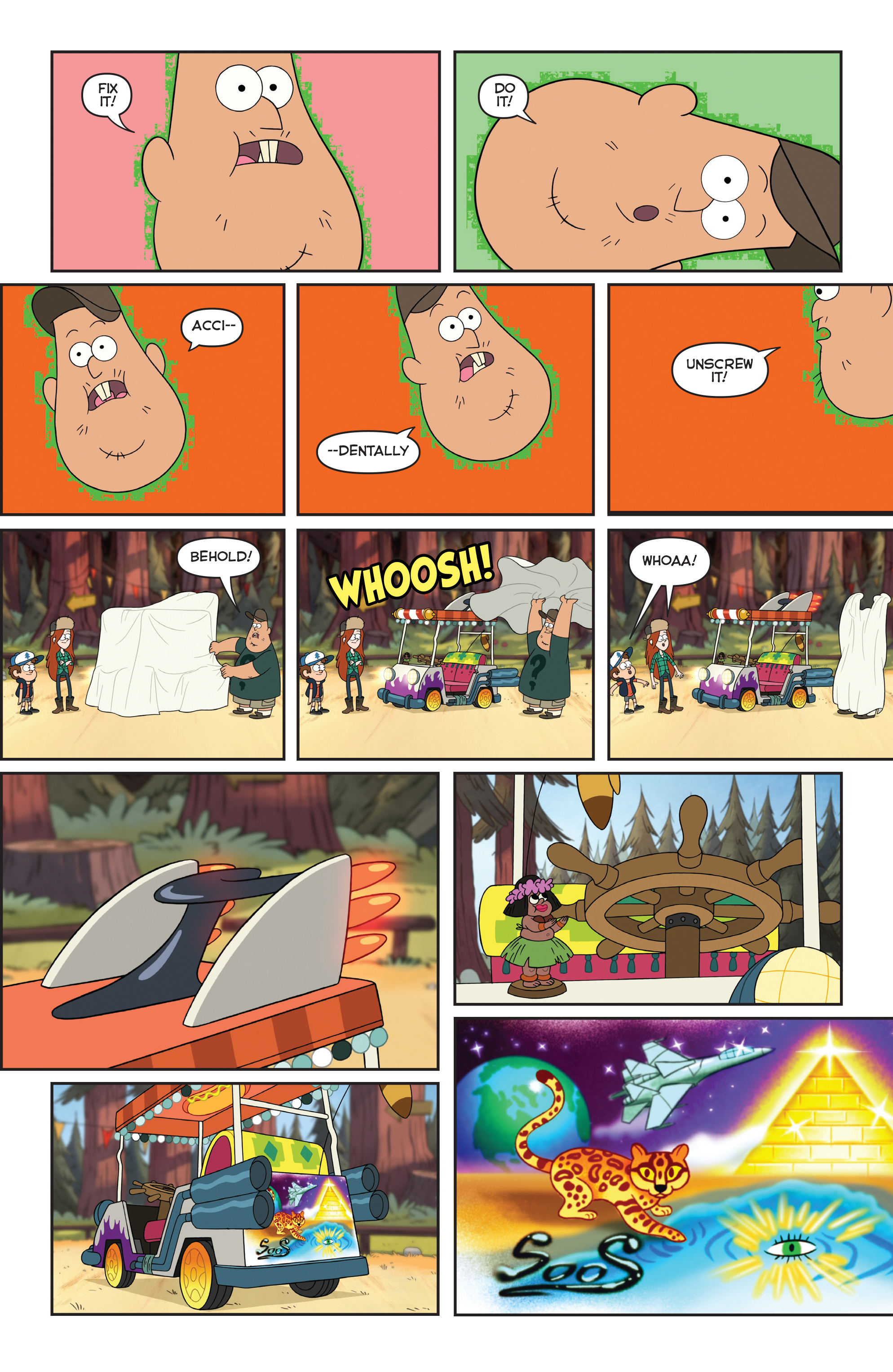 Read online Disney Gravity Falls Shorts Cinestory Comic comic -  Issue #2 - 27