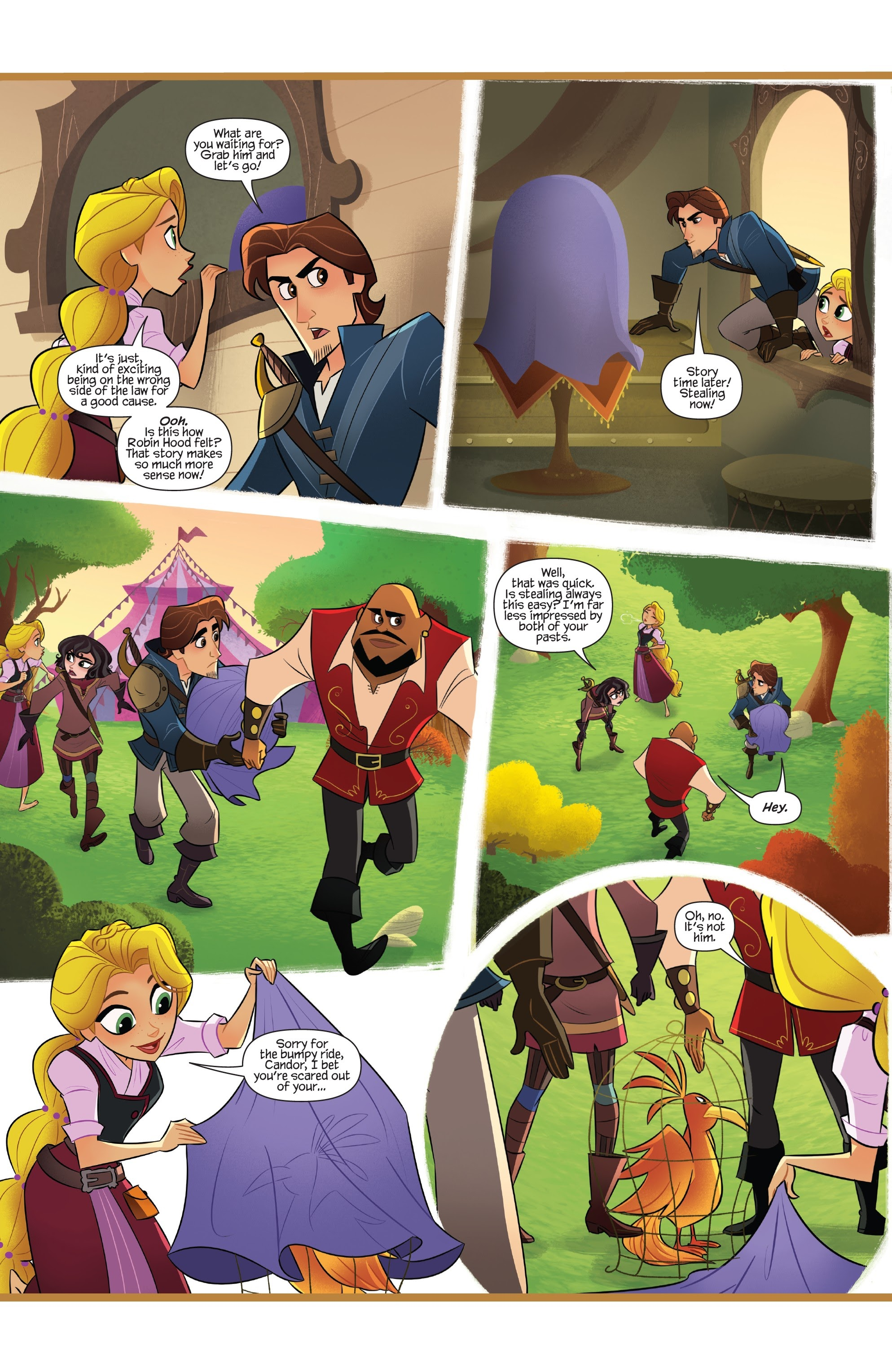 Tangled: The Series: Hair and Now 2 Page 10