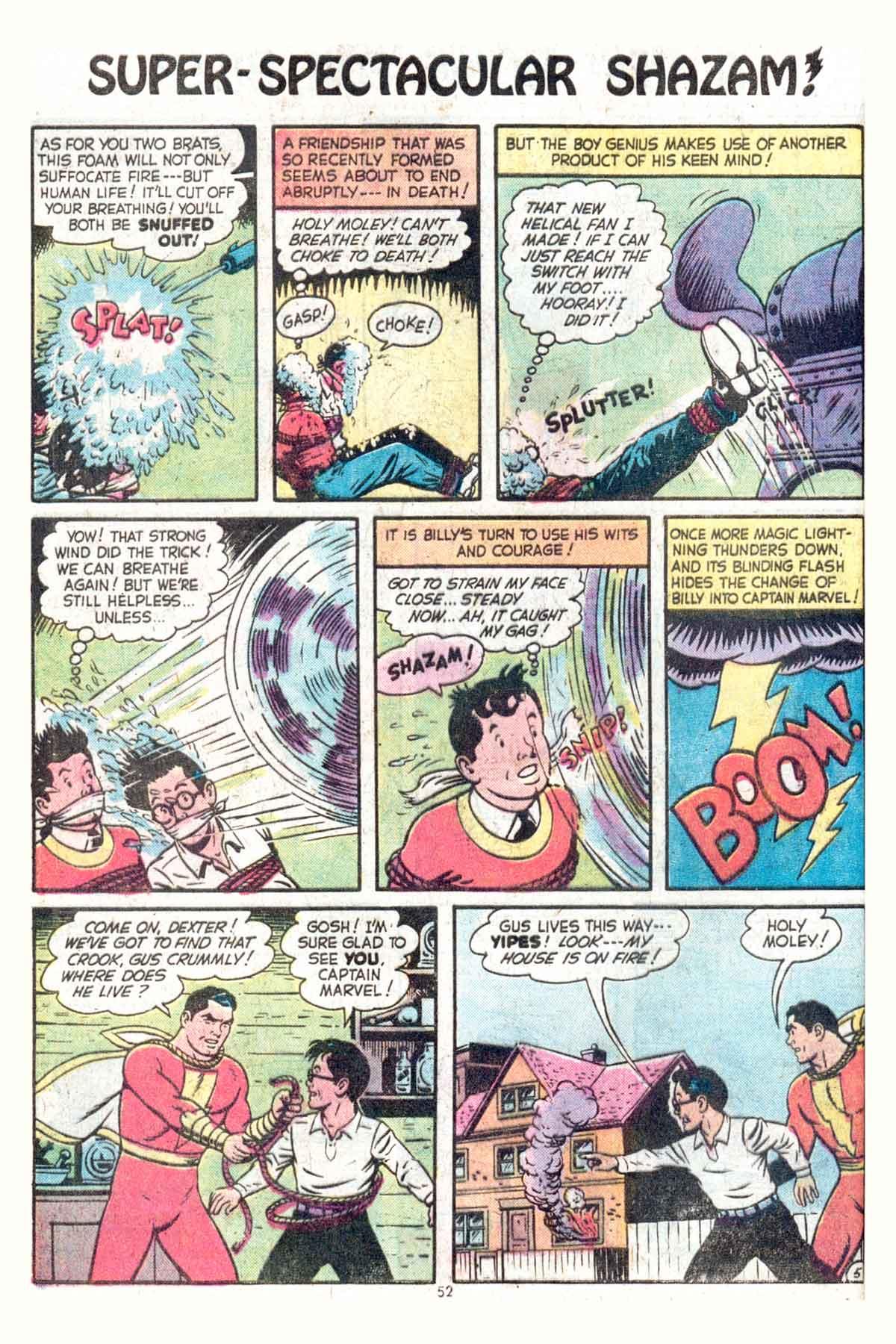 Read online Shazam! (1973) comic -  Issue #13 - 53