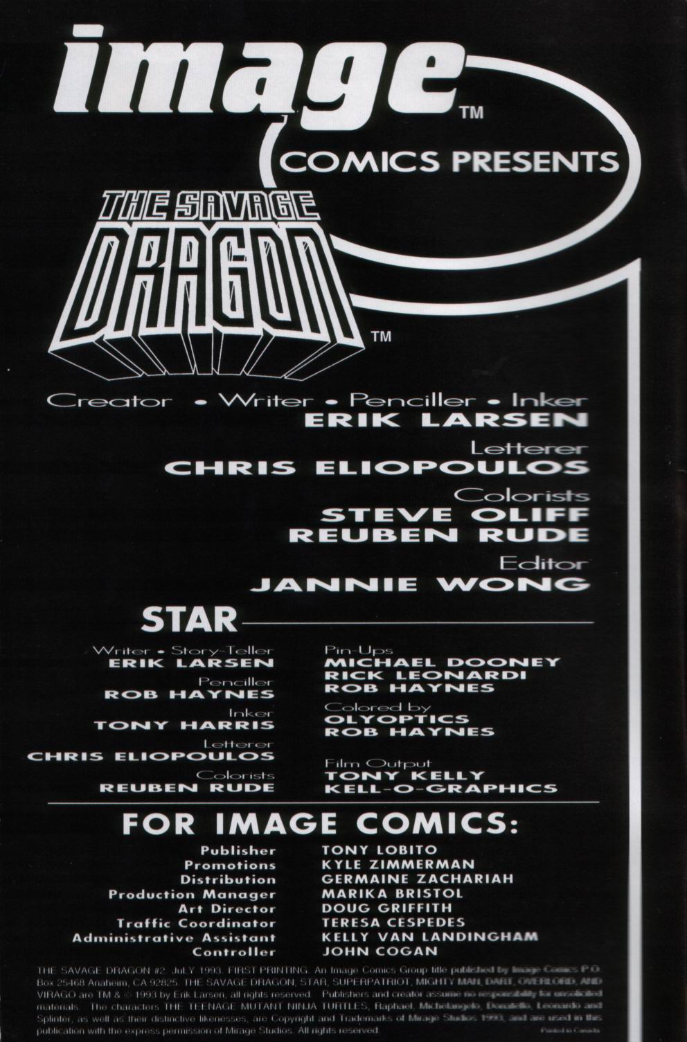 The Savage Dragon (1993) Issue #2 #4 - English 2
