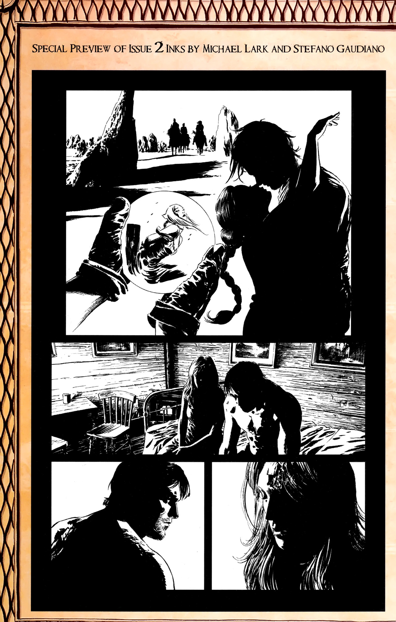 Read online Dark Tower: The Gunslinger - The Battle of Tull comic -  Issue #1 - 28