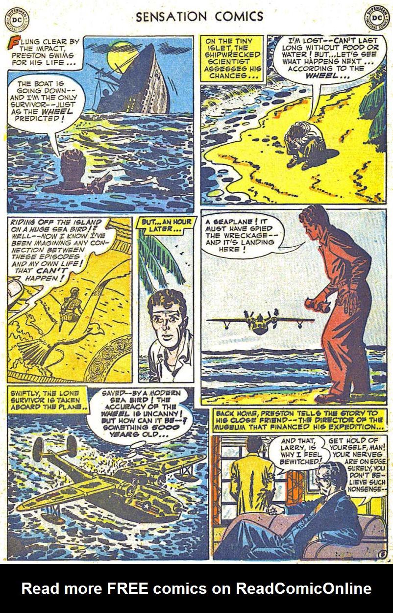 Read online Sensation (Mystery) Comics comic -  Issue #108 - 5