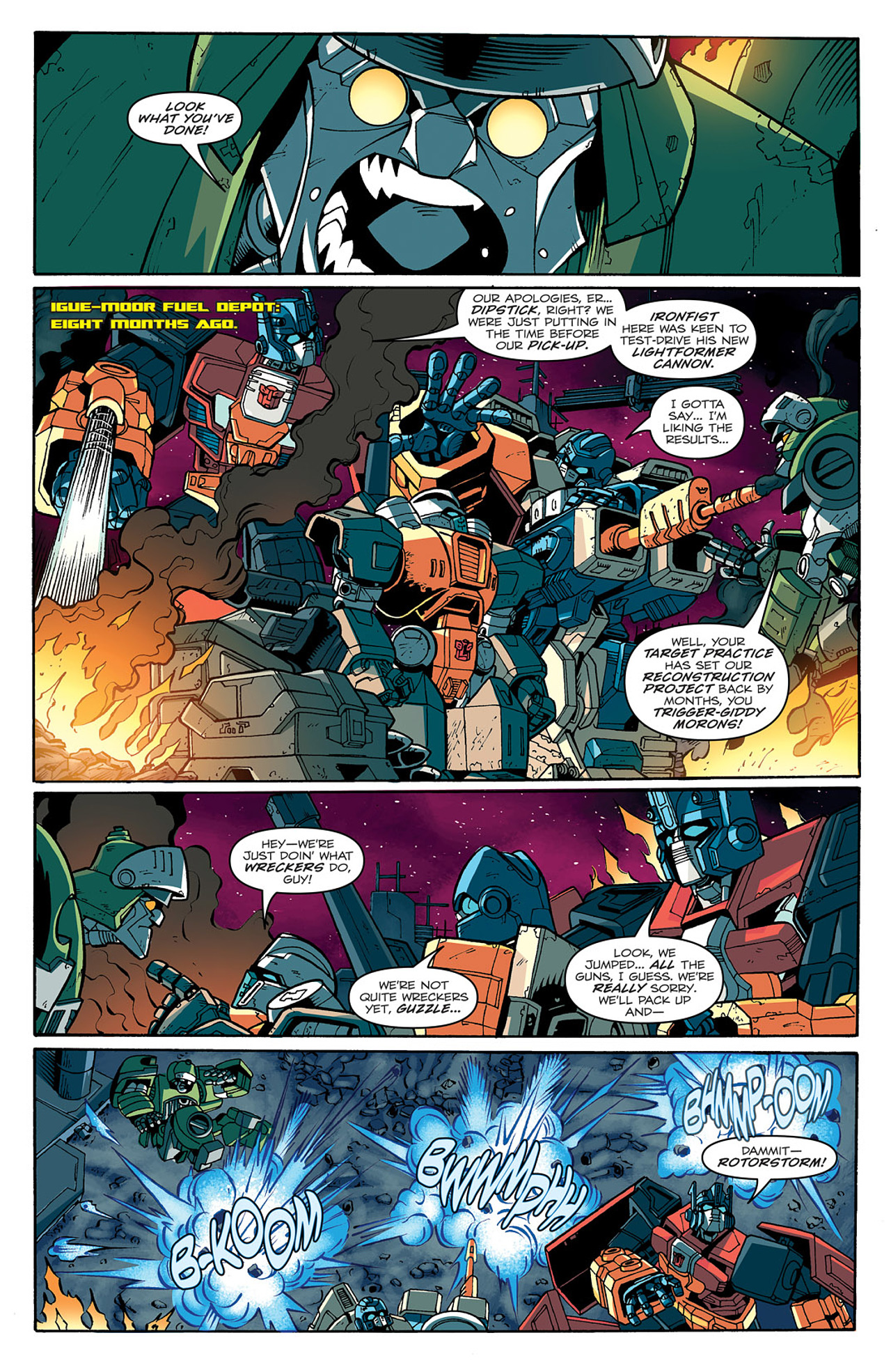 Read online Transformers: Last Stand of The Wreckers comic -  Issue #1 - 11