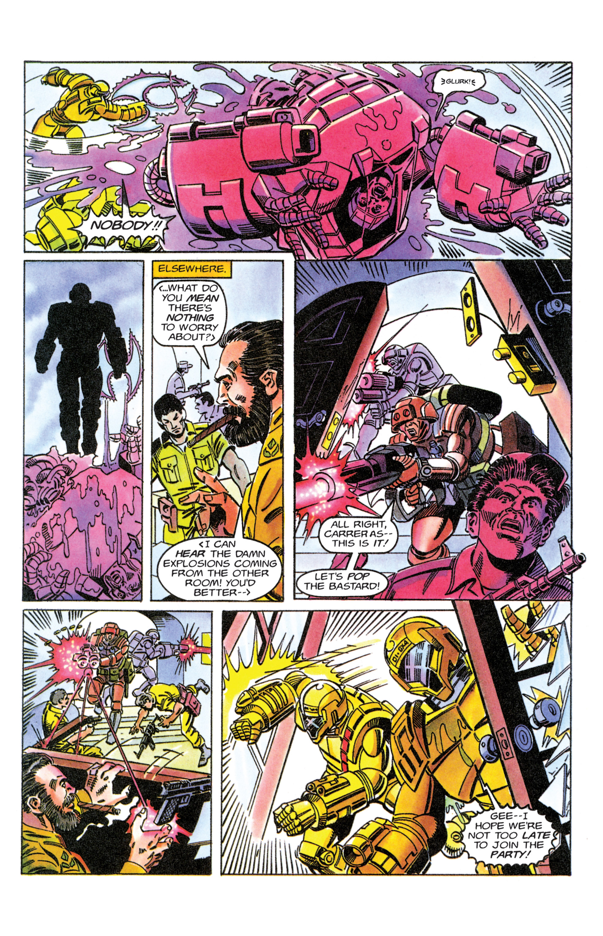 Read online Armorines comic -  Issue #11 - 16