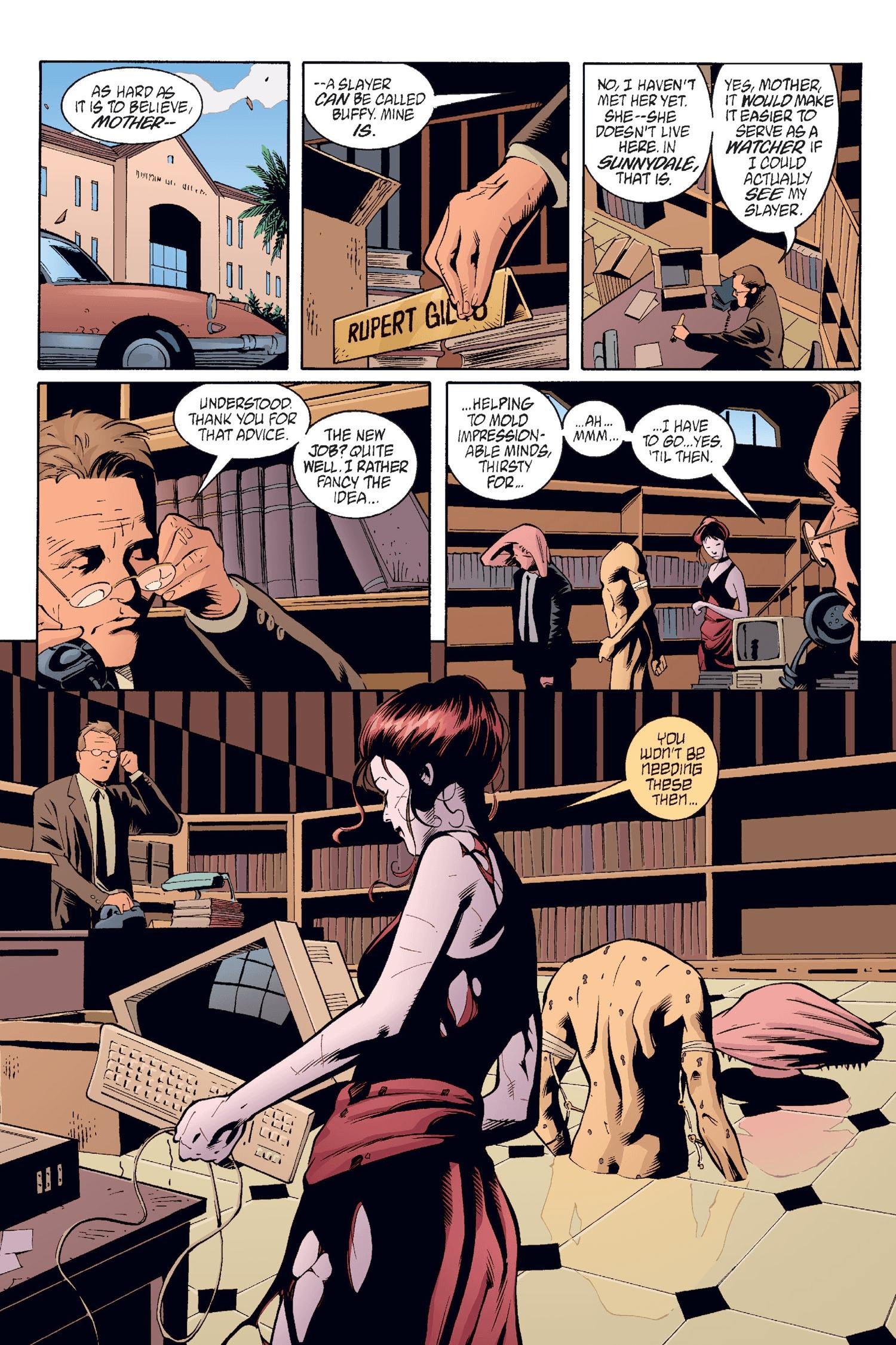 Read online Buffy the Vampire Slayer: Omnibus comic -  Issue # TPB 2 - 82