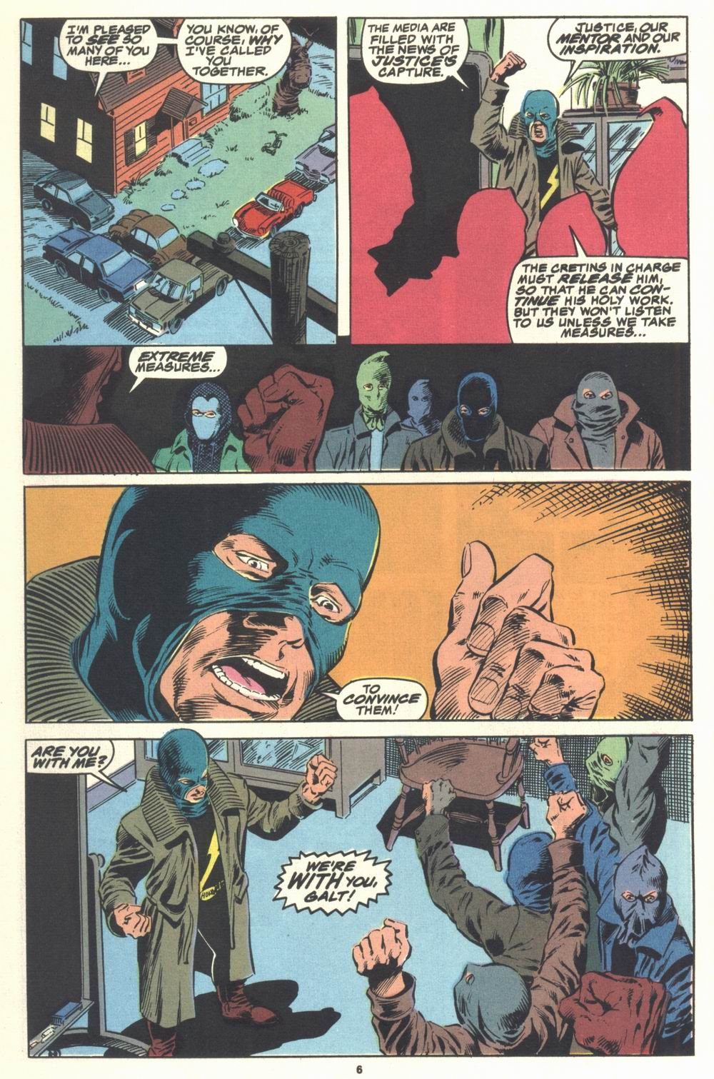 Read online Justice (1986) comic -  Issue #21 - 8