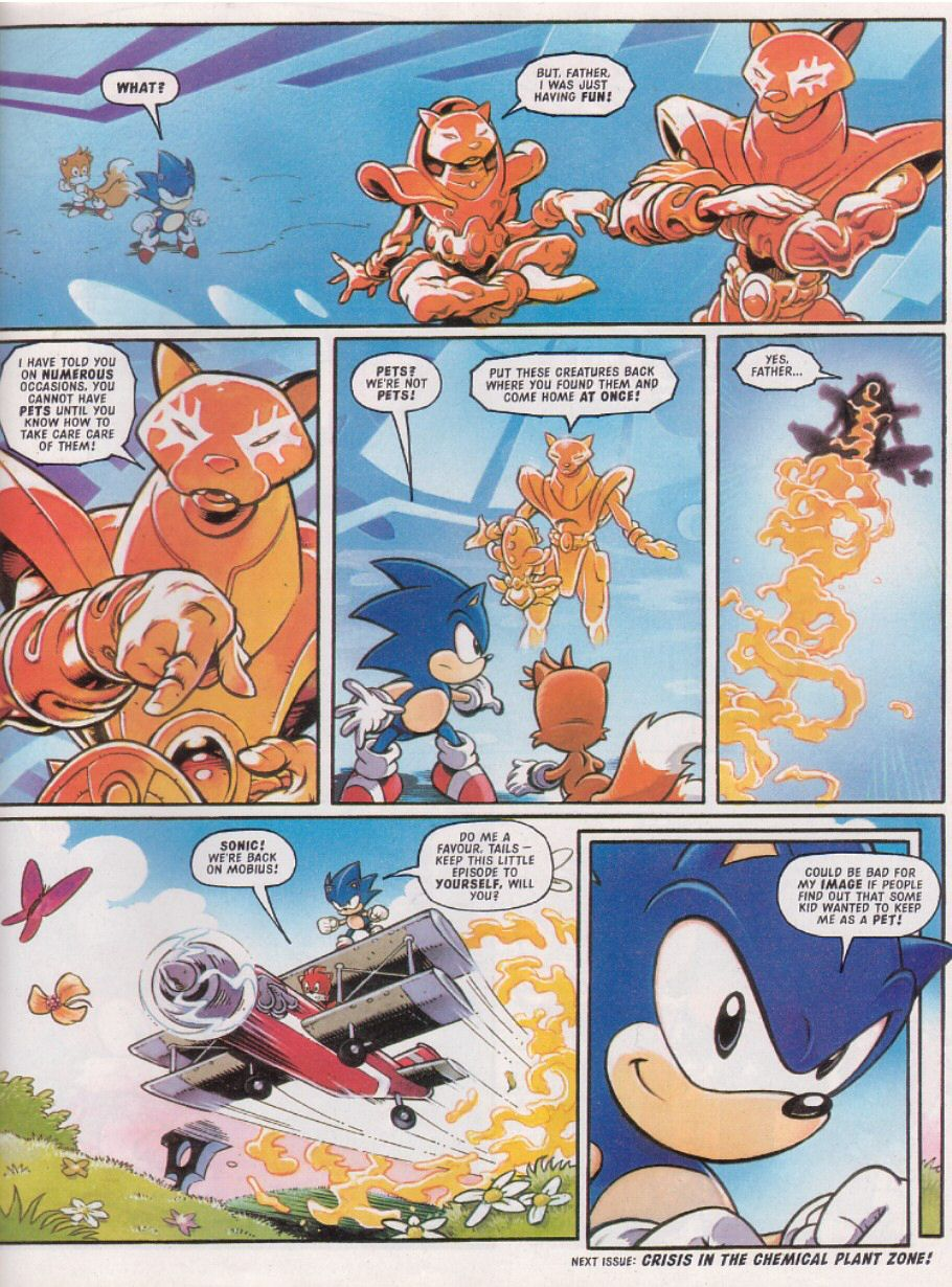 Read online Sonic the Comic comic -  Issue #113 - 9