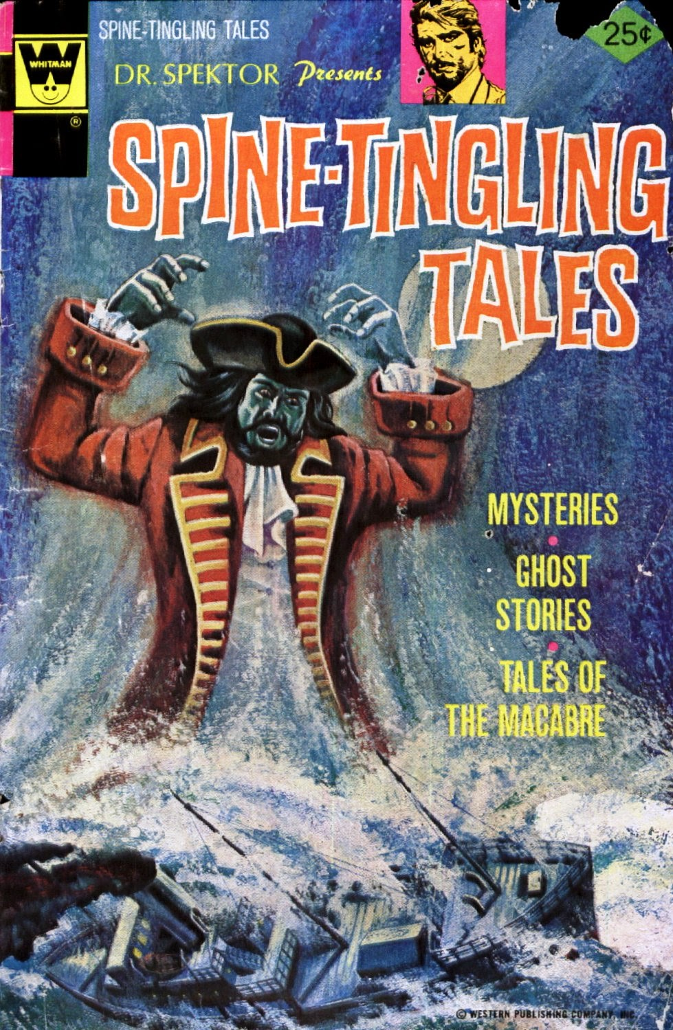 Read online Dr. Spektor Presents Spine-Tingling Tales comic -  Issue #4 - 1