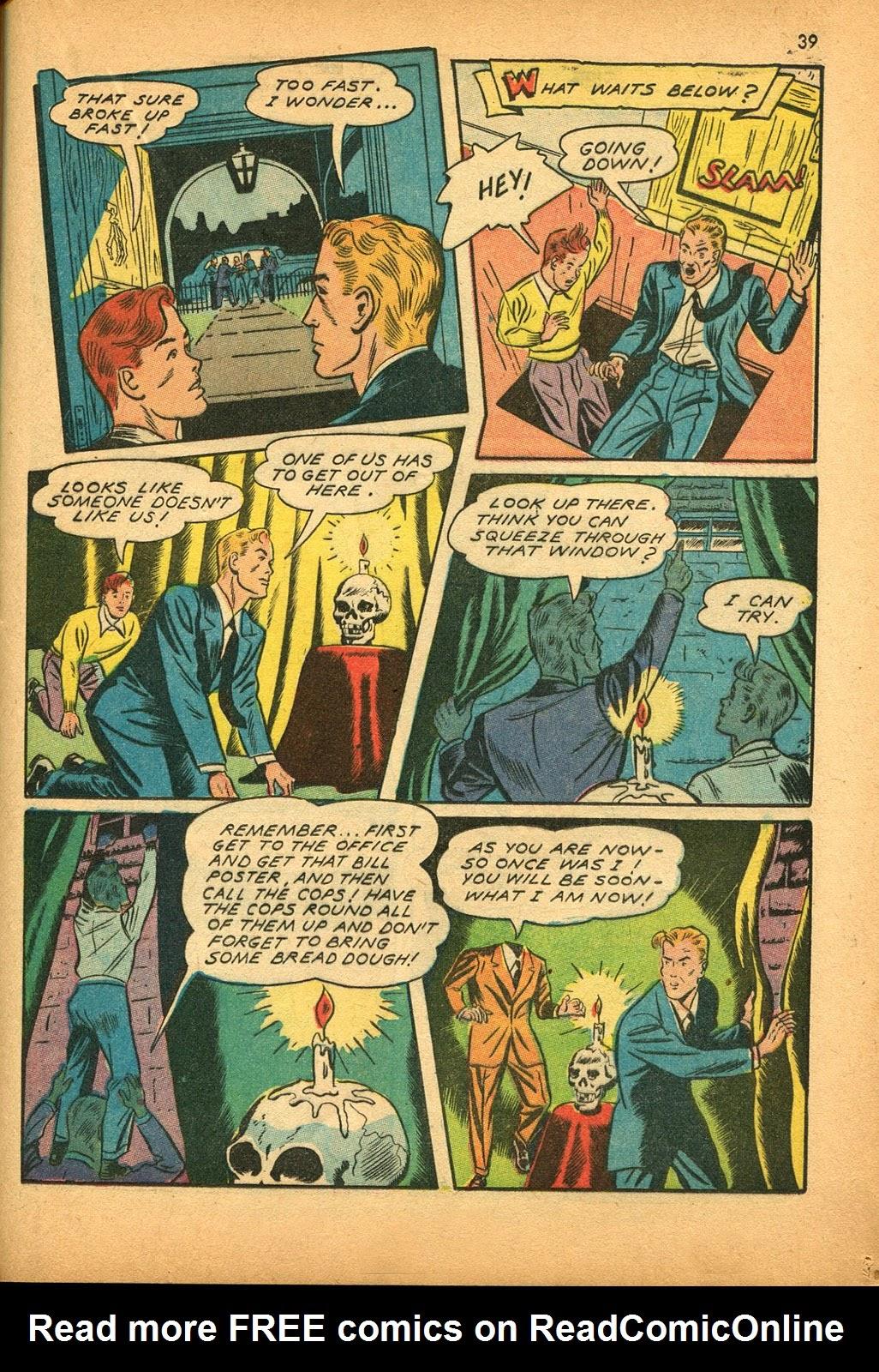 Read online Super-Magician Comics comic -  Issue #9 - 38