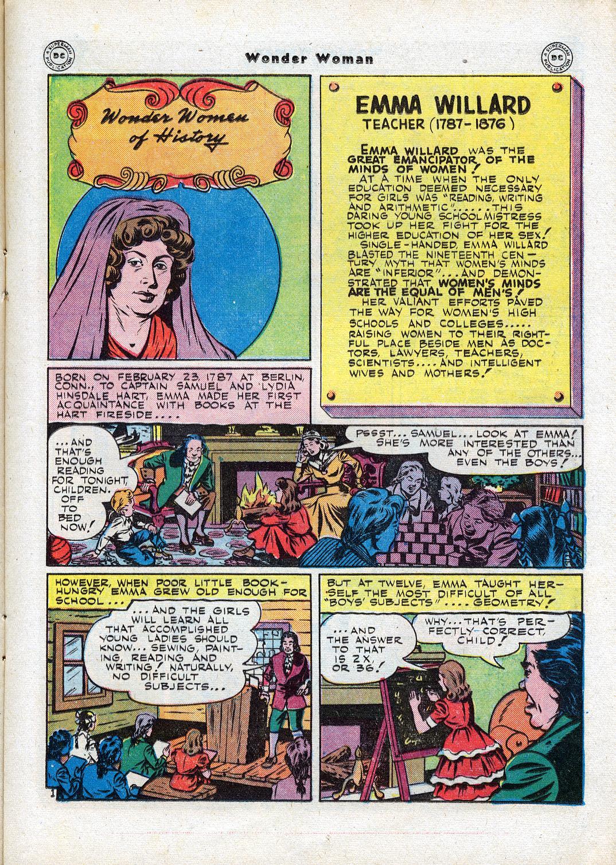 Read online Wonder Woman (1942) comic -  Issue #17 - 19