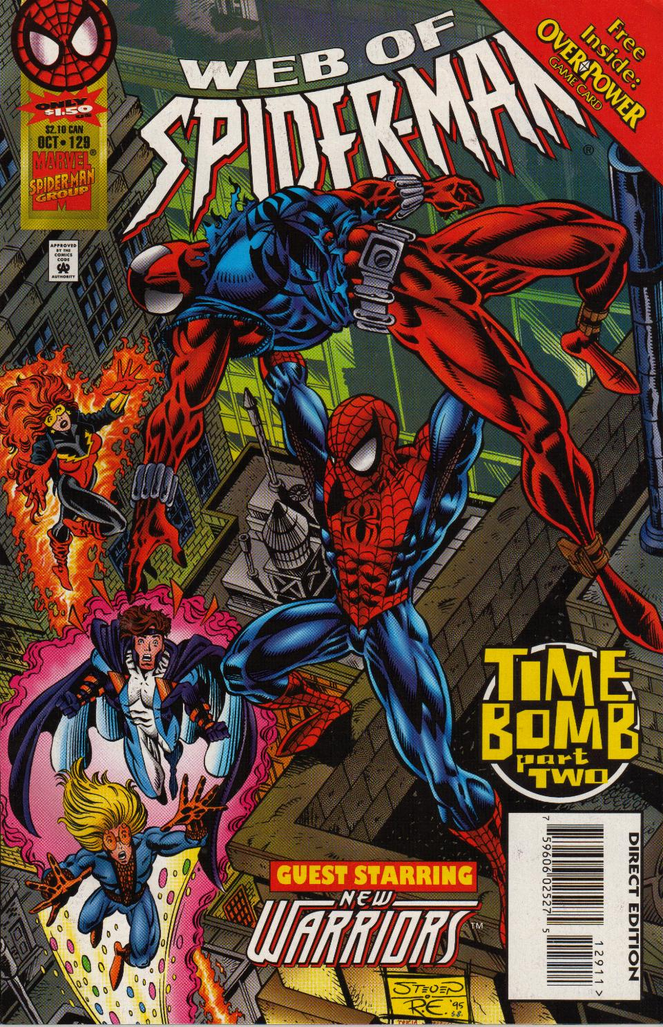 Web of Spider-Man (1985) 129 Page 1