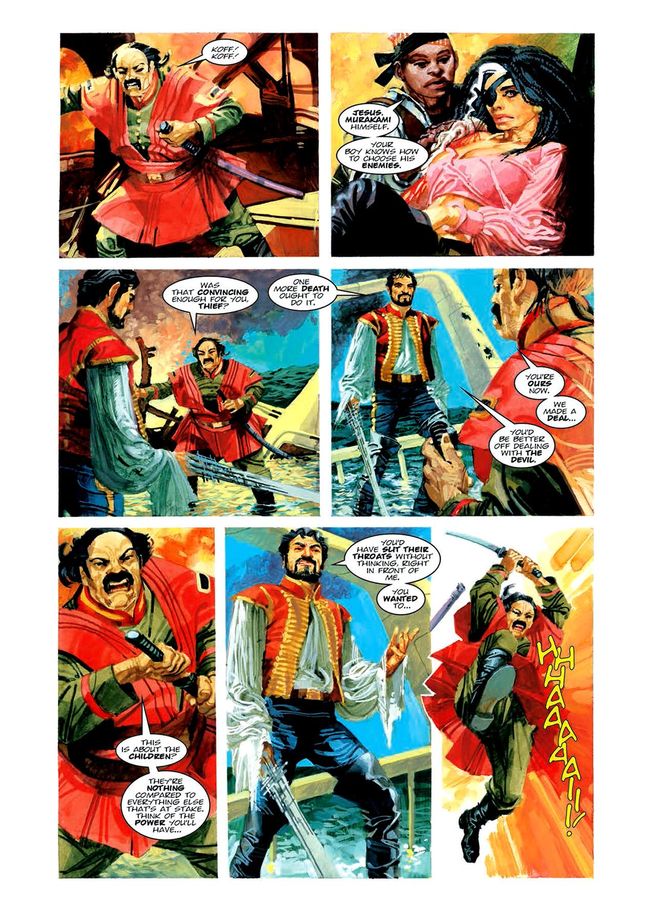 Read online Nikolai Dante comic -  Issue # TPB 6 - 129