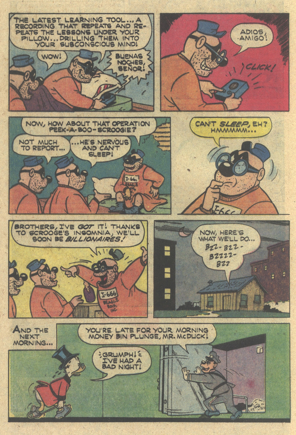 Read online Uncle Scrooge (1953) comic -  Issue #168 - 8