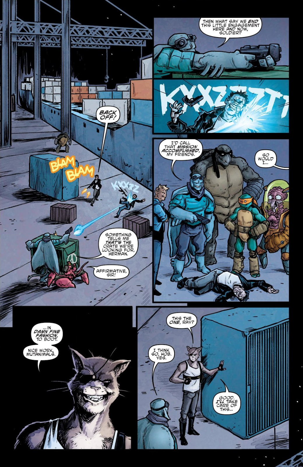 Read online Teenage Mutant Ninja Turtles: The IDW Collection comic -  Issue # TPB 7 (Part 1) - 69