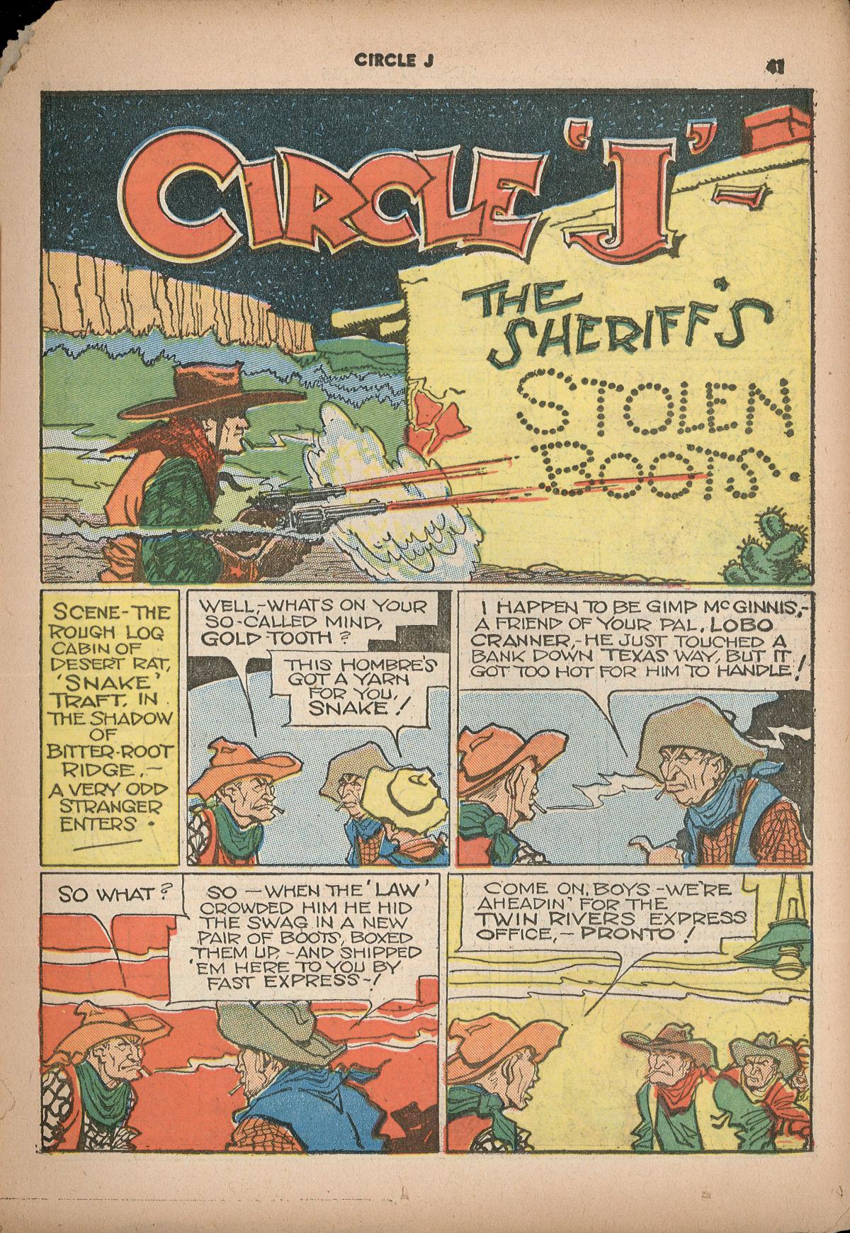 Read online Shadow Comics comic -  Issue #2 - 44