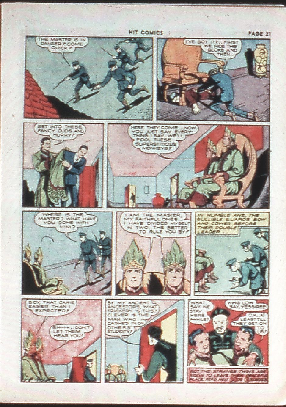 Read online Hit Comics comic -  Issue #10 - 23