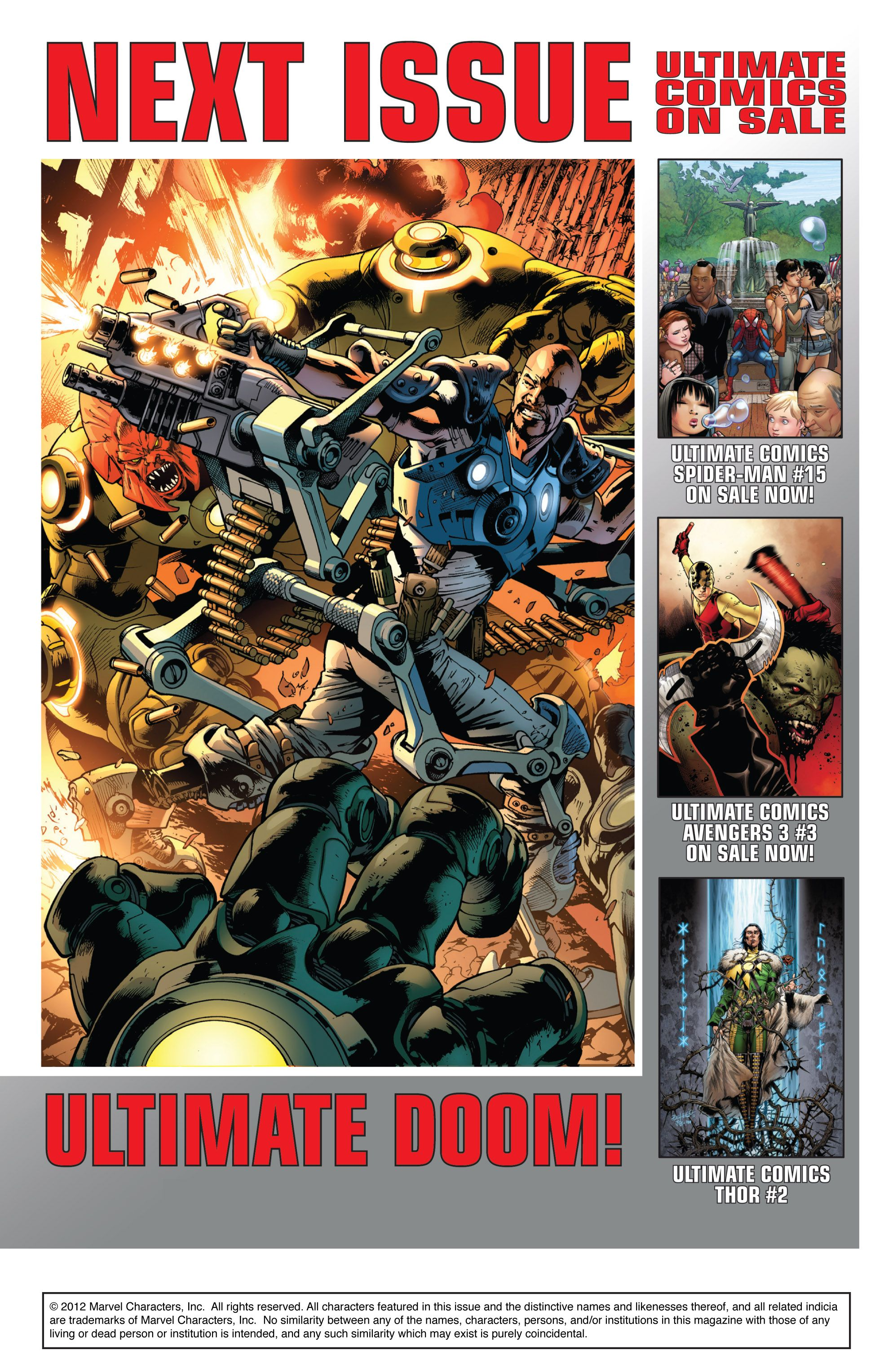 Read online Ultimate Comics Doomsday comic -  Issue # Full - 165