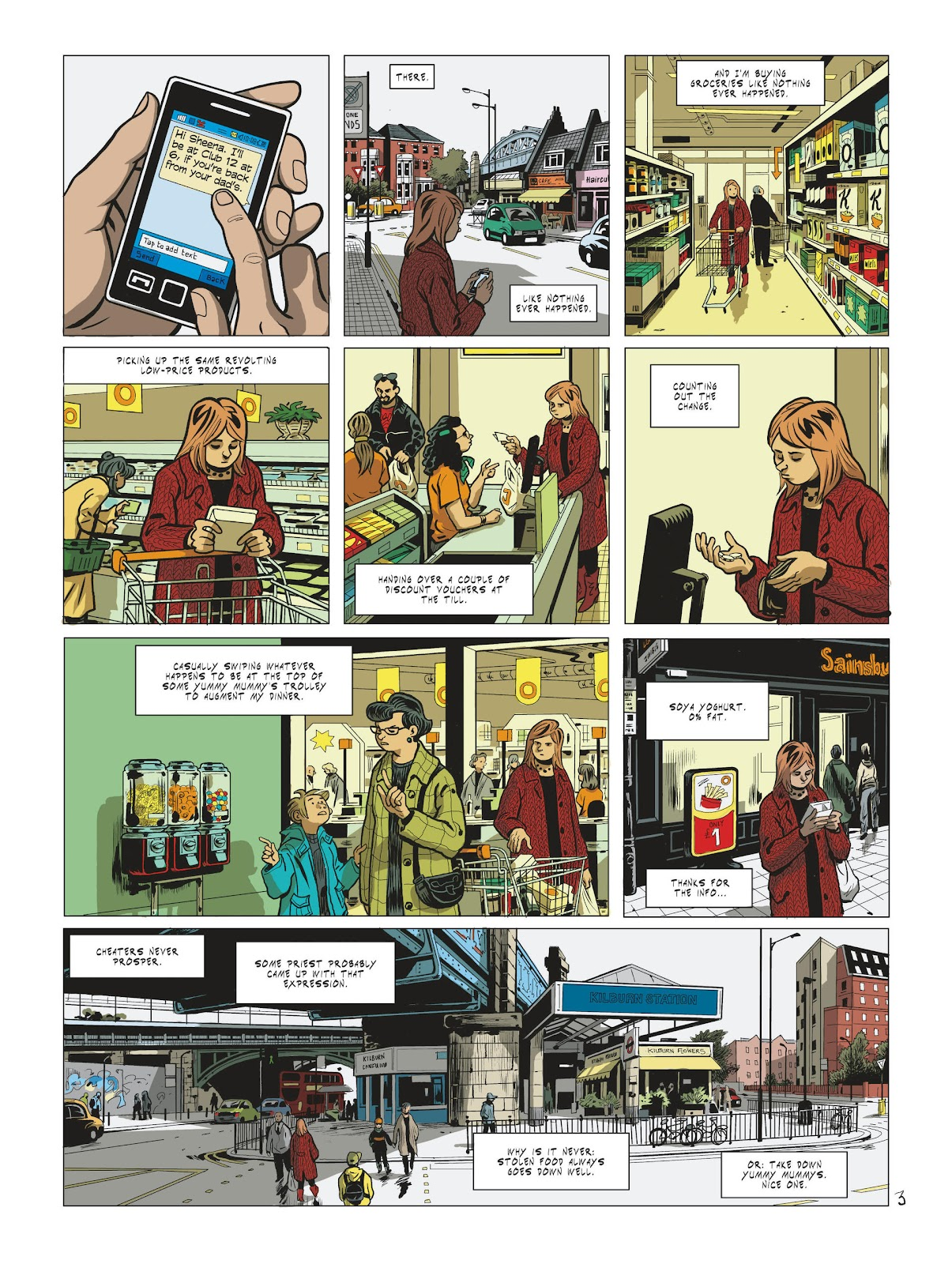 Read online Maggy Garrisson comic -  Issue #2 - 5