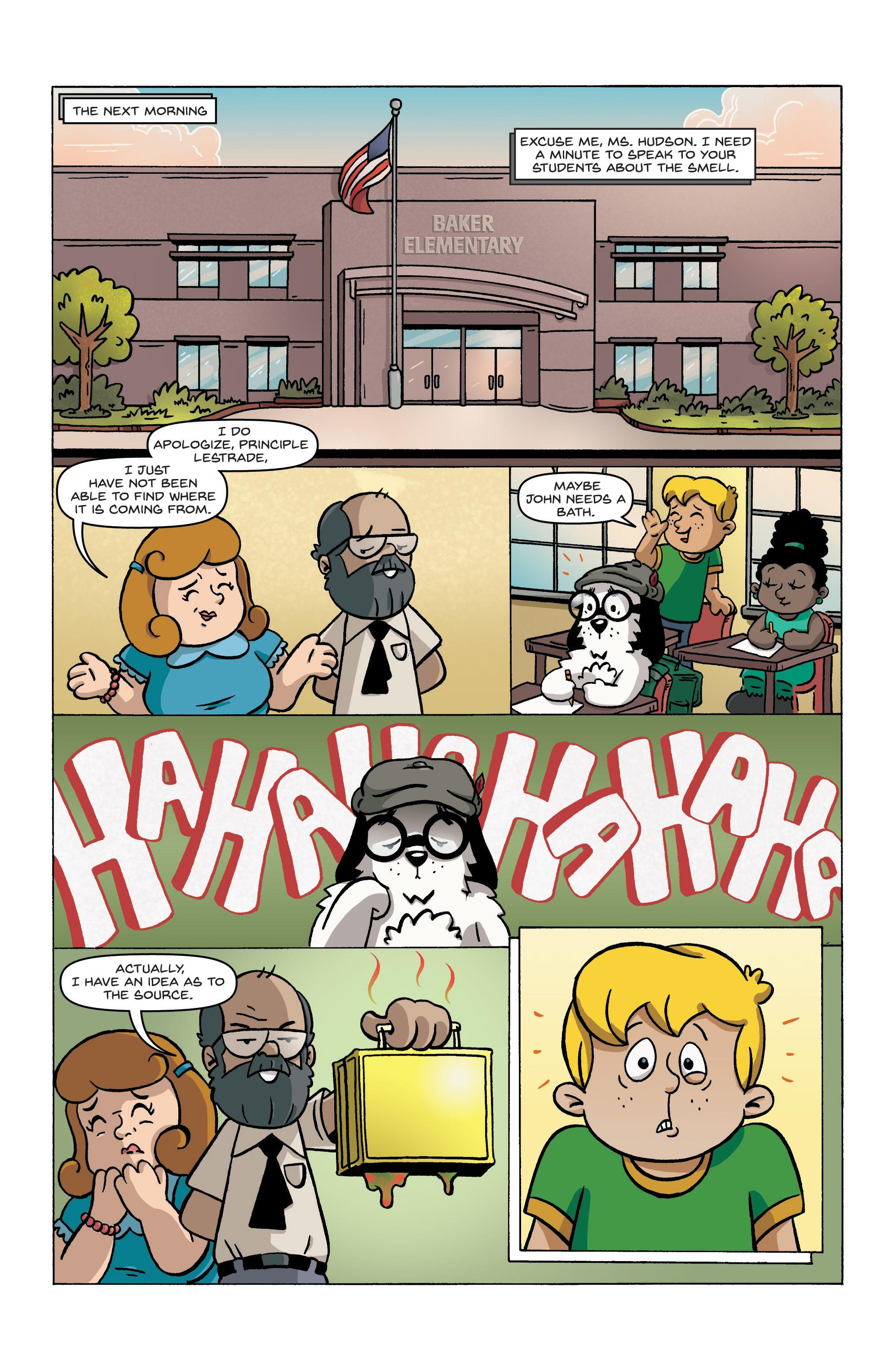 Read online Kid Sherlock comic -  Issue #1 - 17