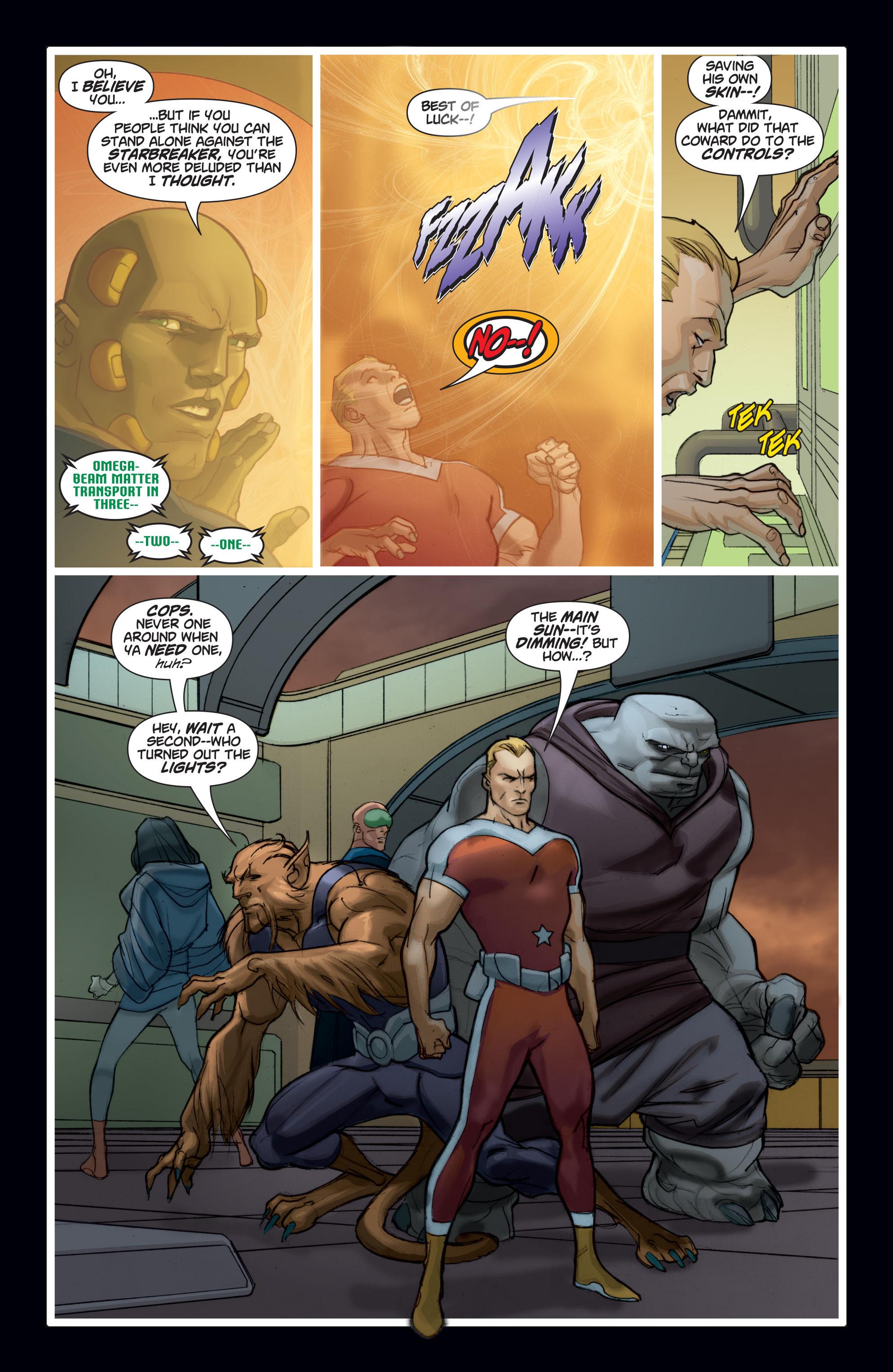 Read online Adam Strange (2004) comic -  Issue #7 - 16