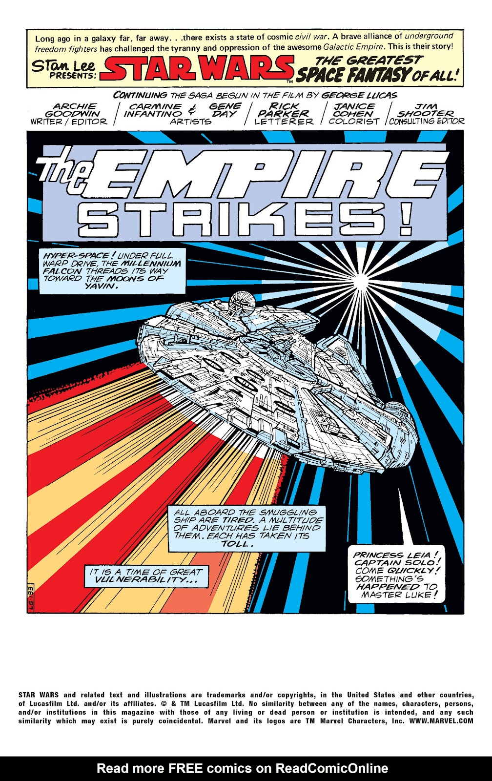 Read online Star Wars Legends: The Original Marvel Years - Epic Collection comic -  Issue # TPB 1 (Part 4) - 16