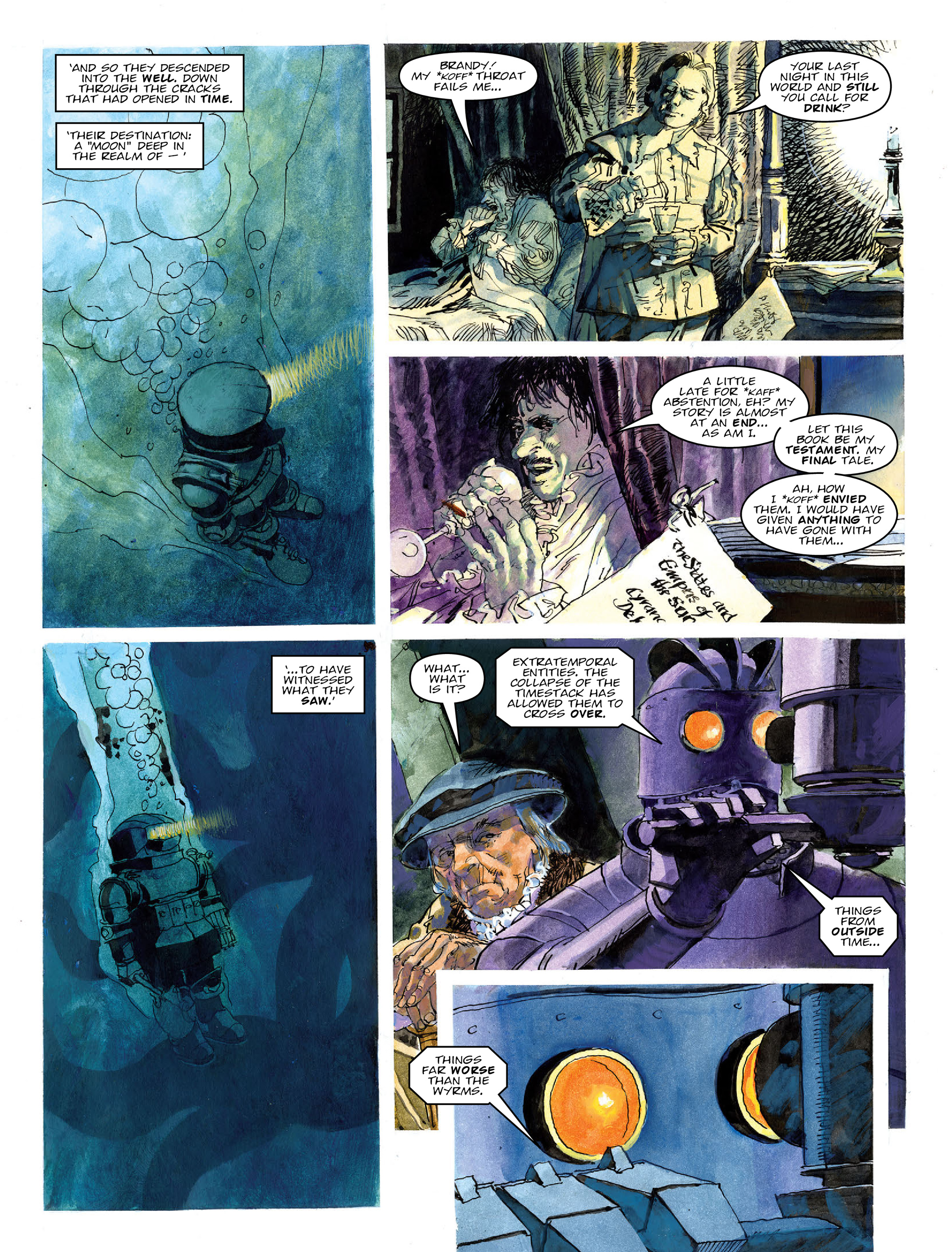 Read online 2000 AD comic -  Issue #2020 - 24