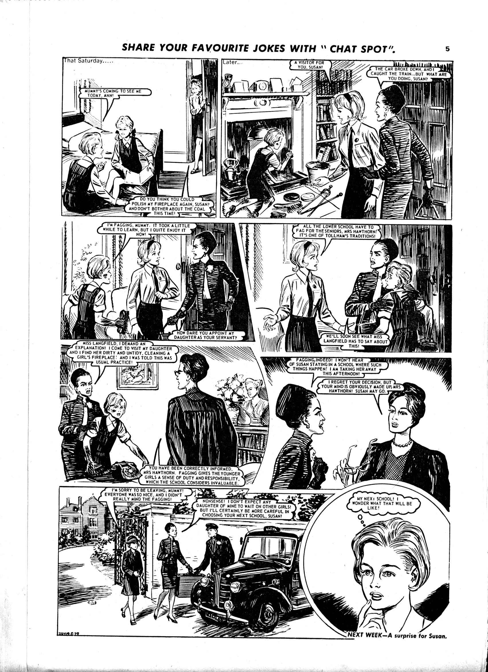 Read online Judy comic -  Issue #1010 - 5