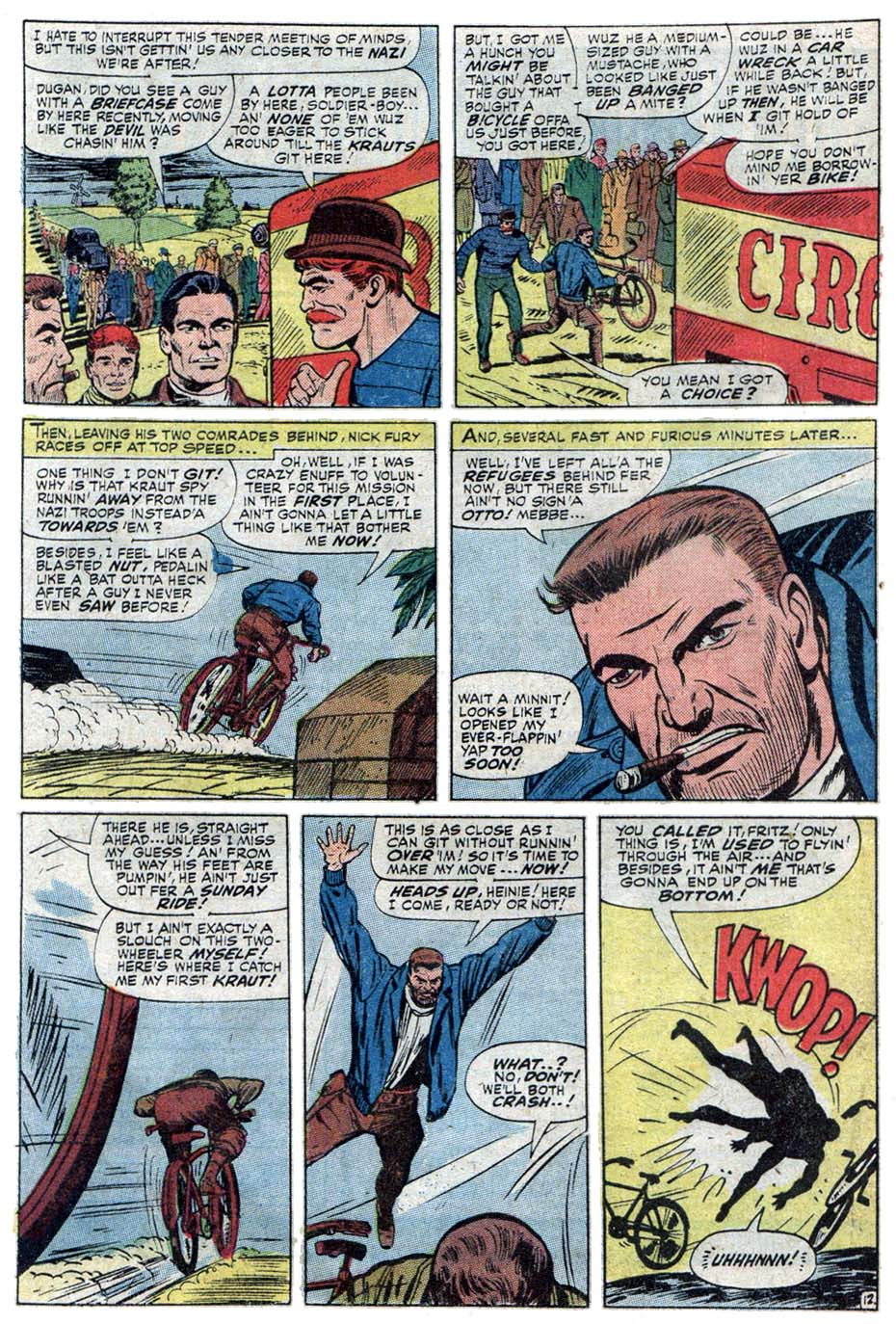 Read online Sgt. Fury comic -  Issue #101 - 20