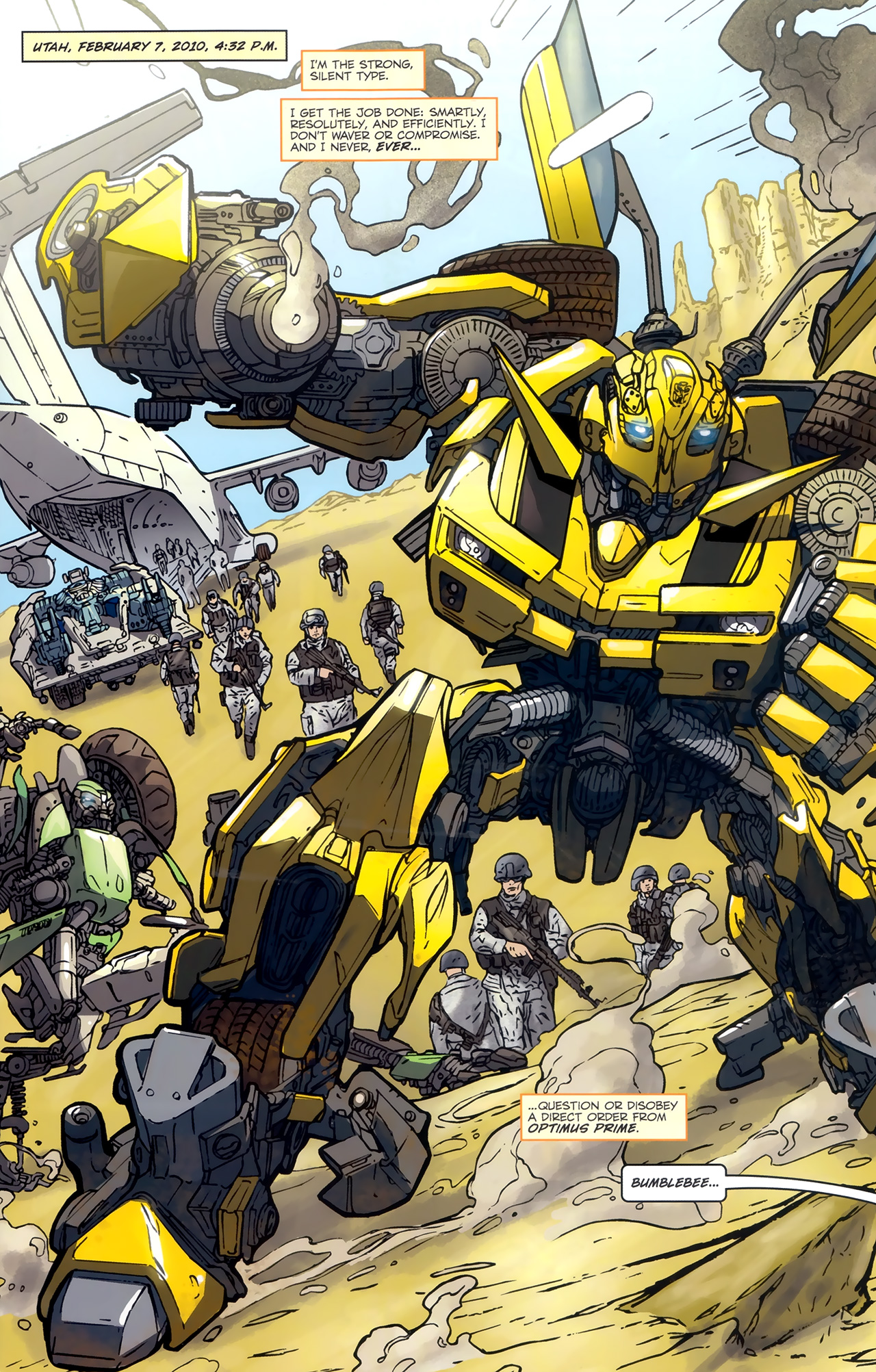Read online Transformers: Nefarious comic -  Issue #3 - 4