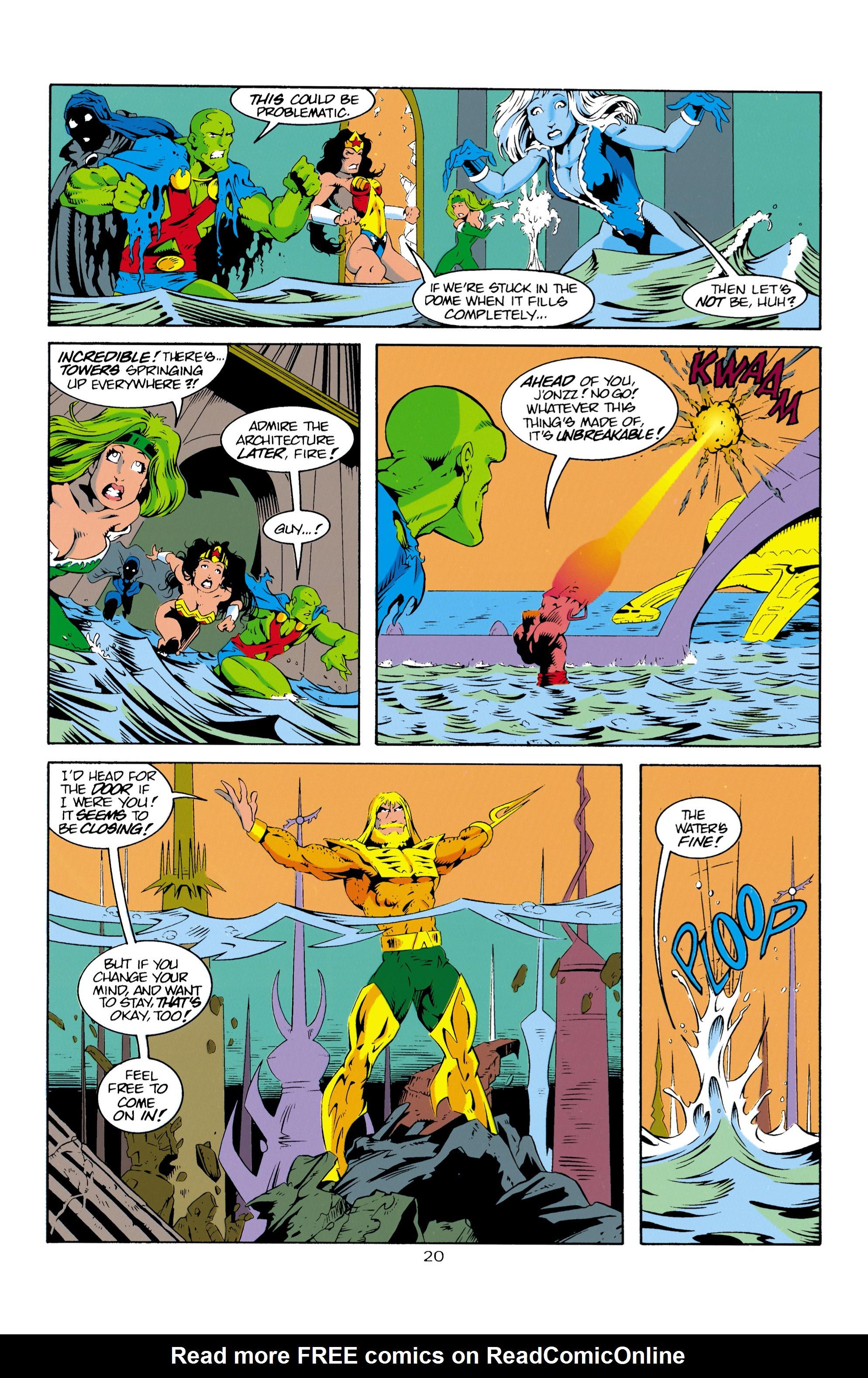 Read online Aquaman (1994) comic -  Issue #16 - 21
