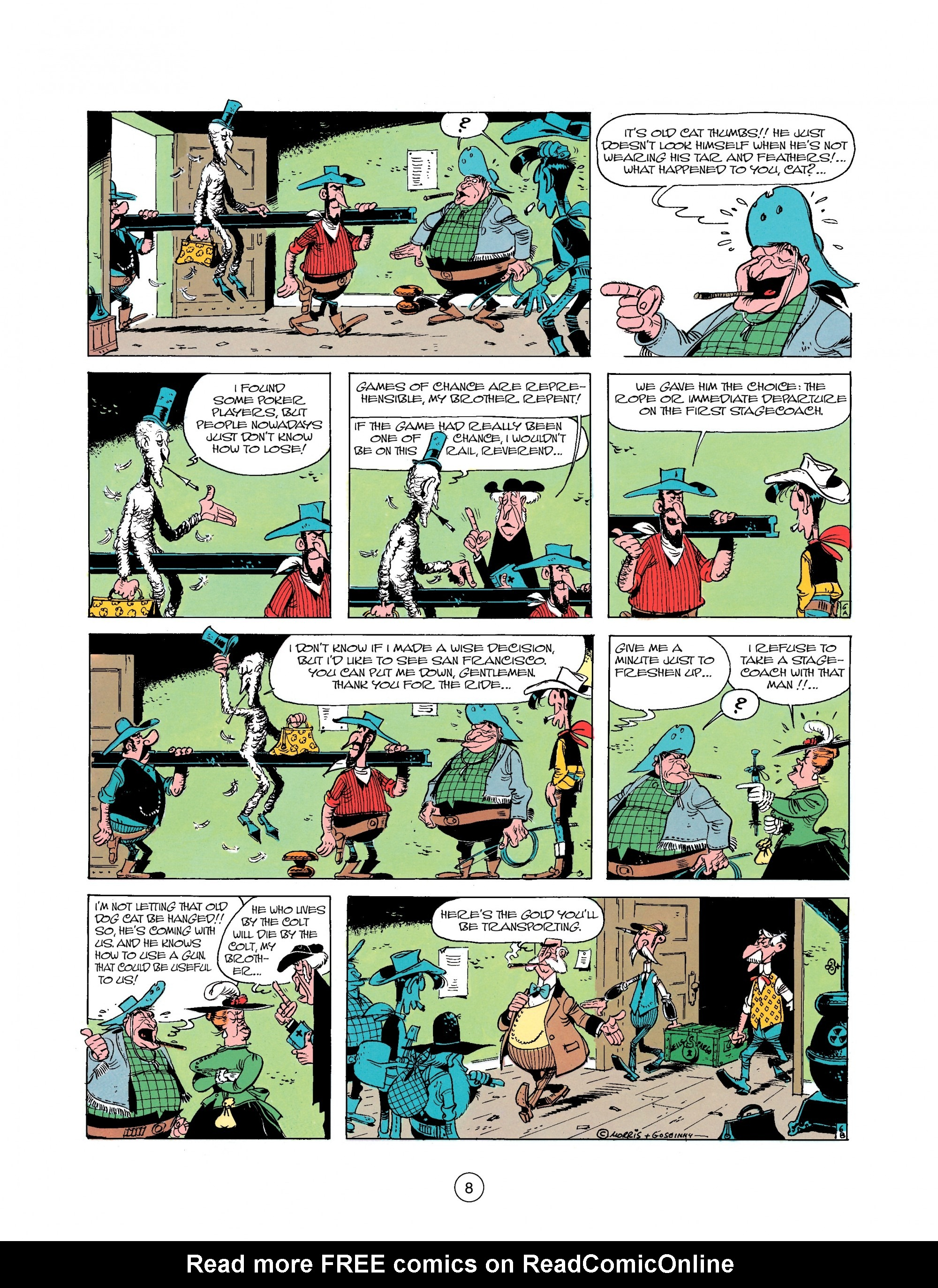 Read online A Lucky Luke Adventure comic -  Issue #25 - 8