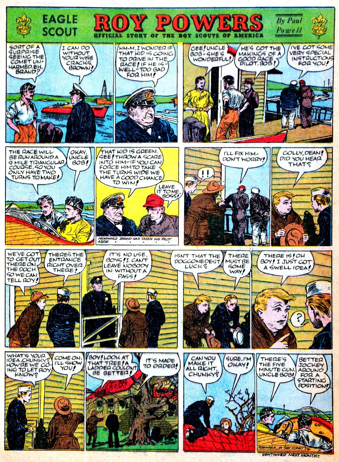 Read online Famous Funnies comic -  Issue #52 - 9