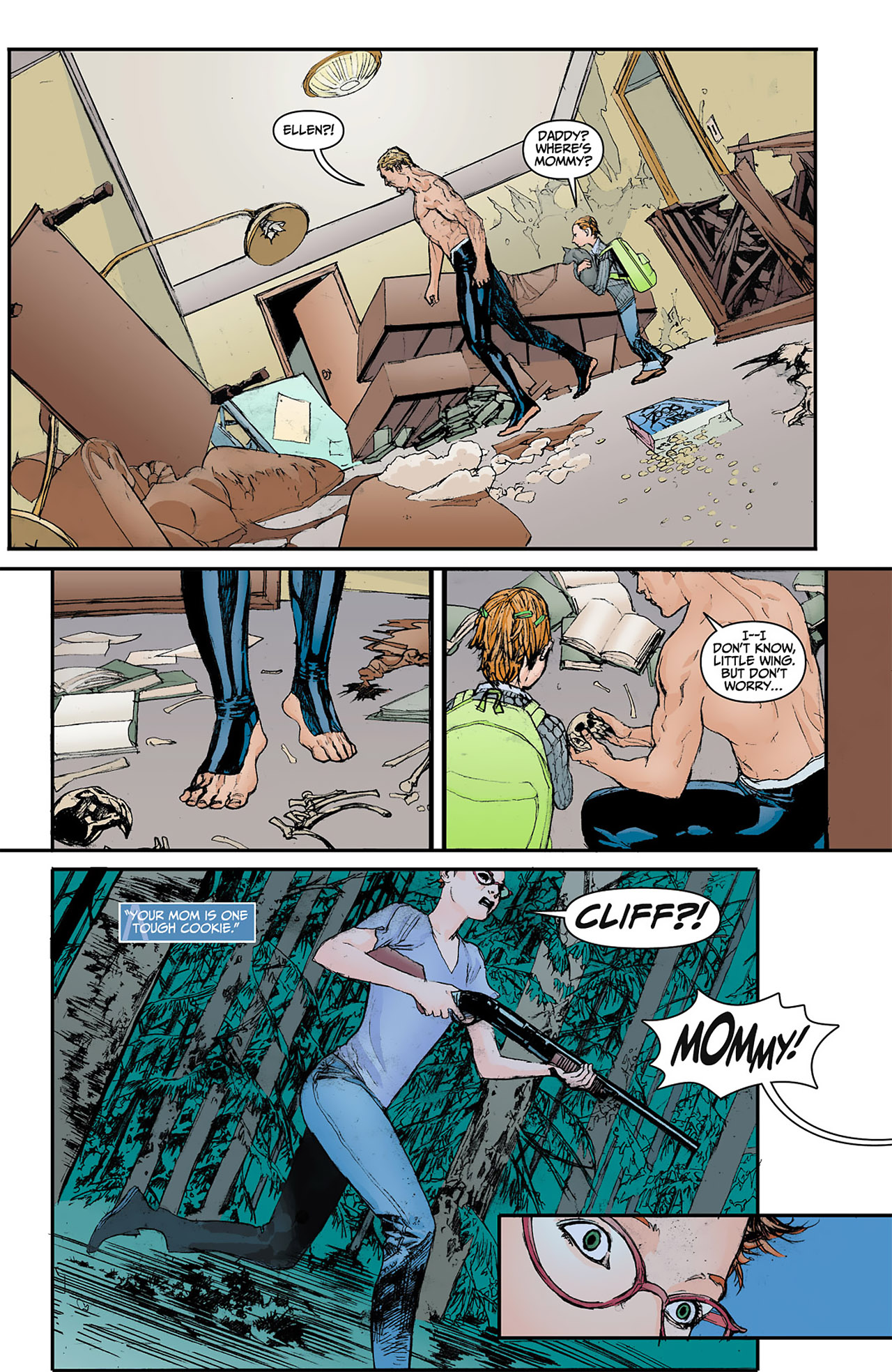 Read online Animal Man (2011) comic -  Issue #4 - 19